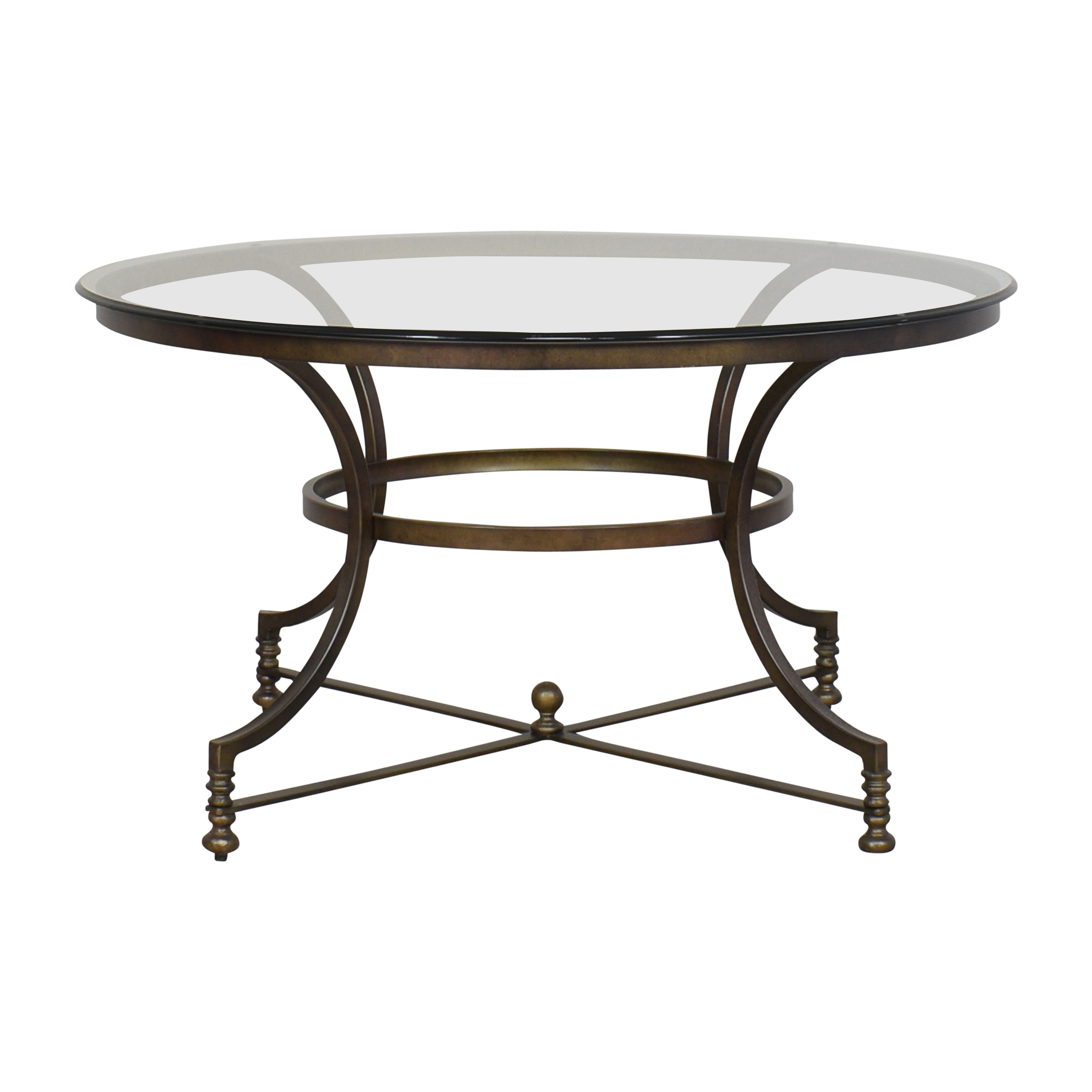 shop Thomasville Round Cocktail Table Thomasville Coffee Tables