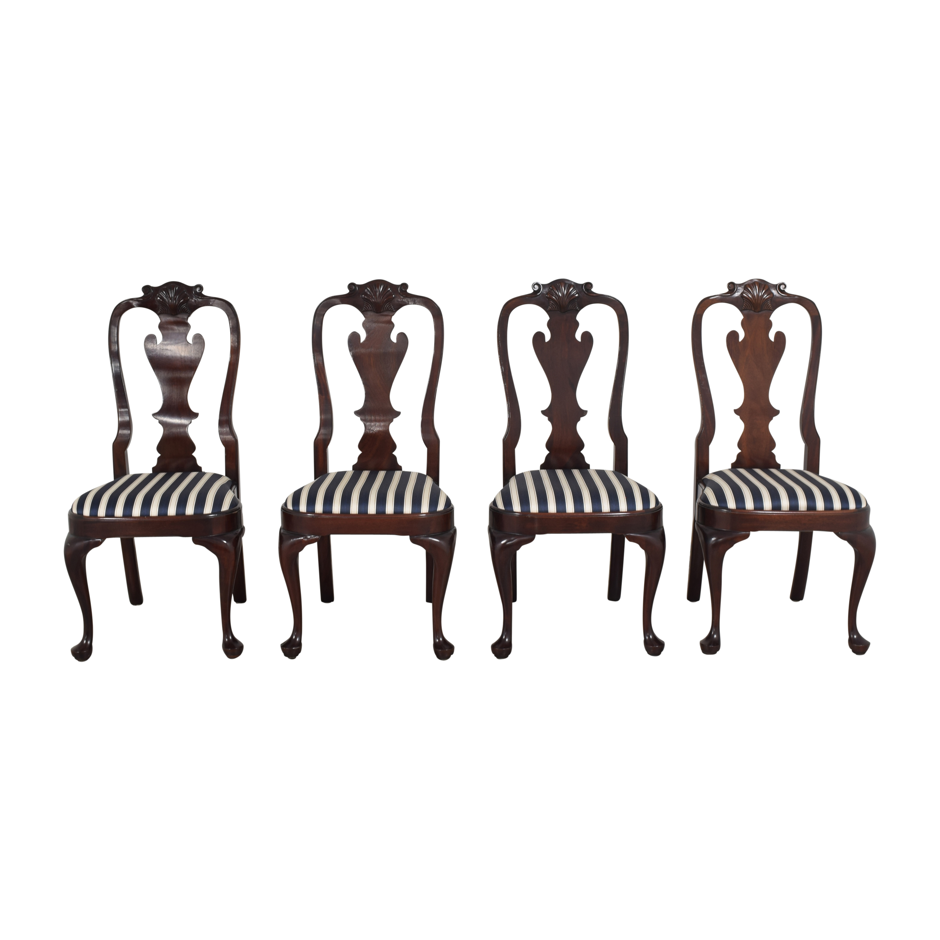Stickley Furniture Queen Anne-Style Dining Chairs sale