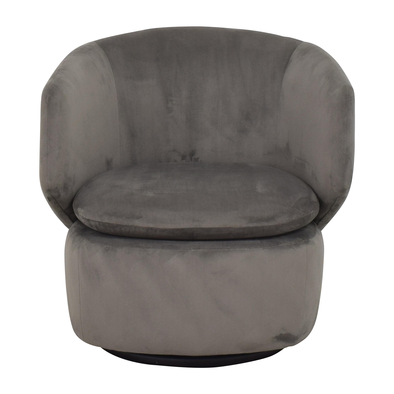 buy West Elm West Elm Crescent Swivel Chair online