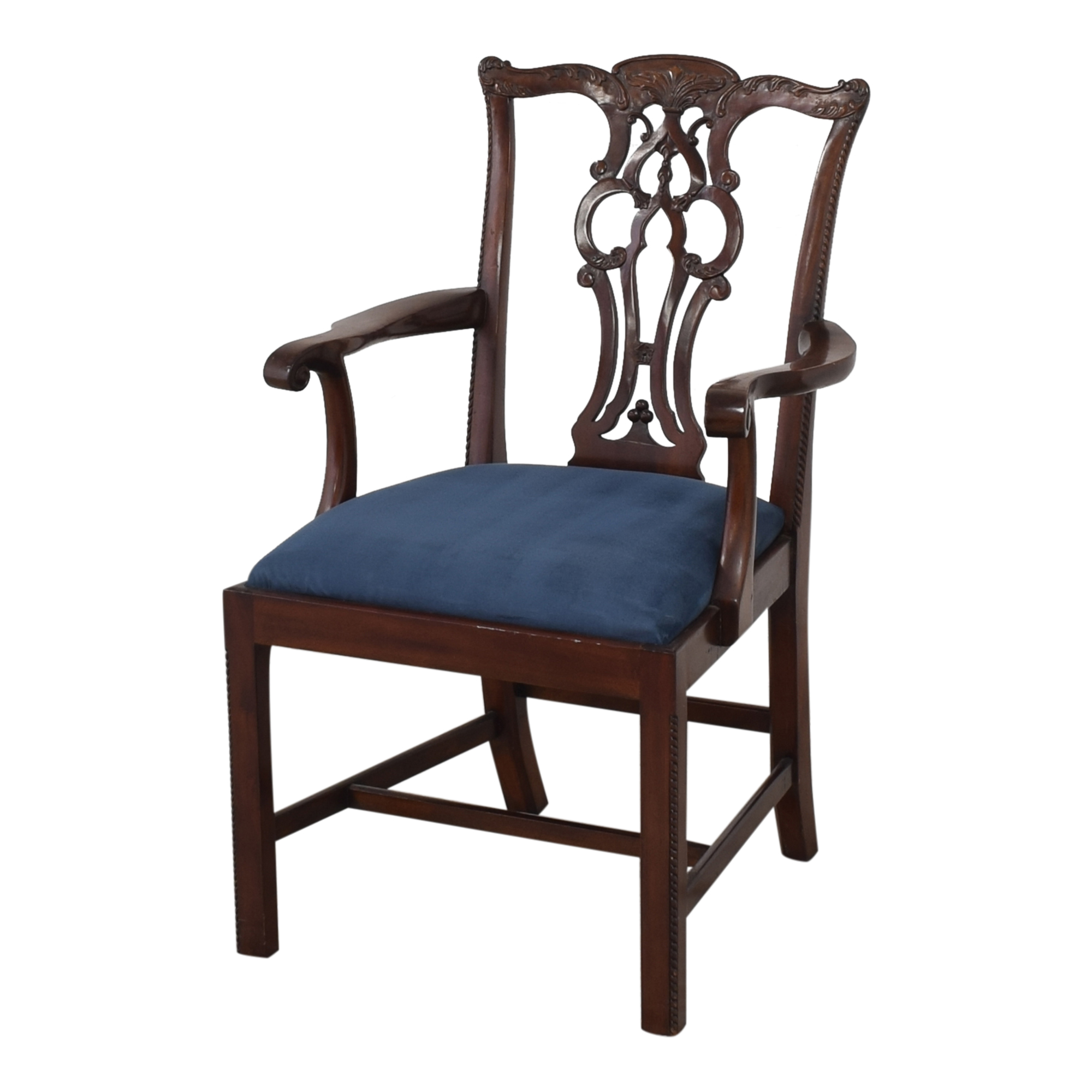 buy Maitland-Smith Chippendale Dining Arm Chair Maitland-Smith Dining Chairs