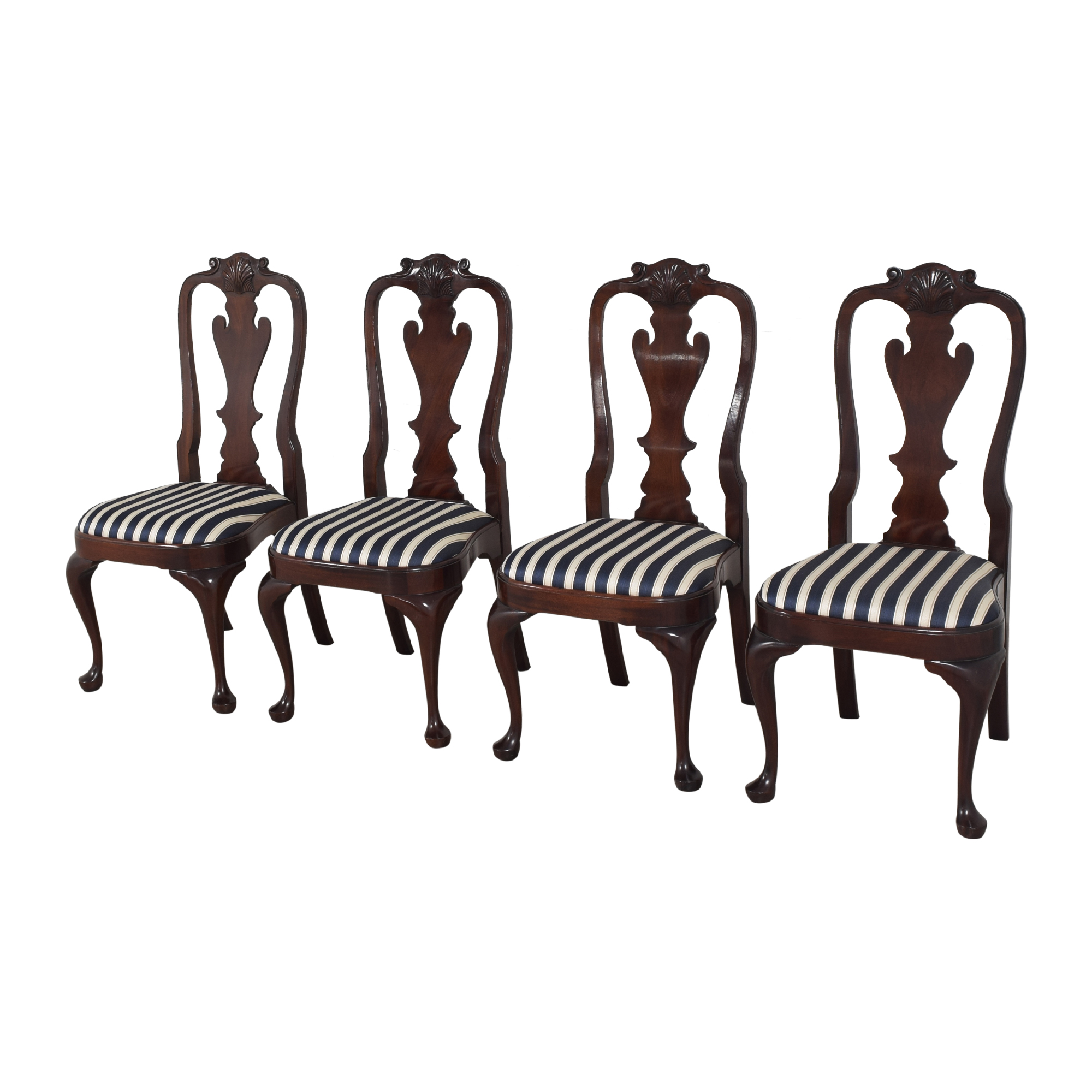 Stickley Furniture Stickley Furniture Queen Anne-Style Dining Chairs discount
