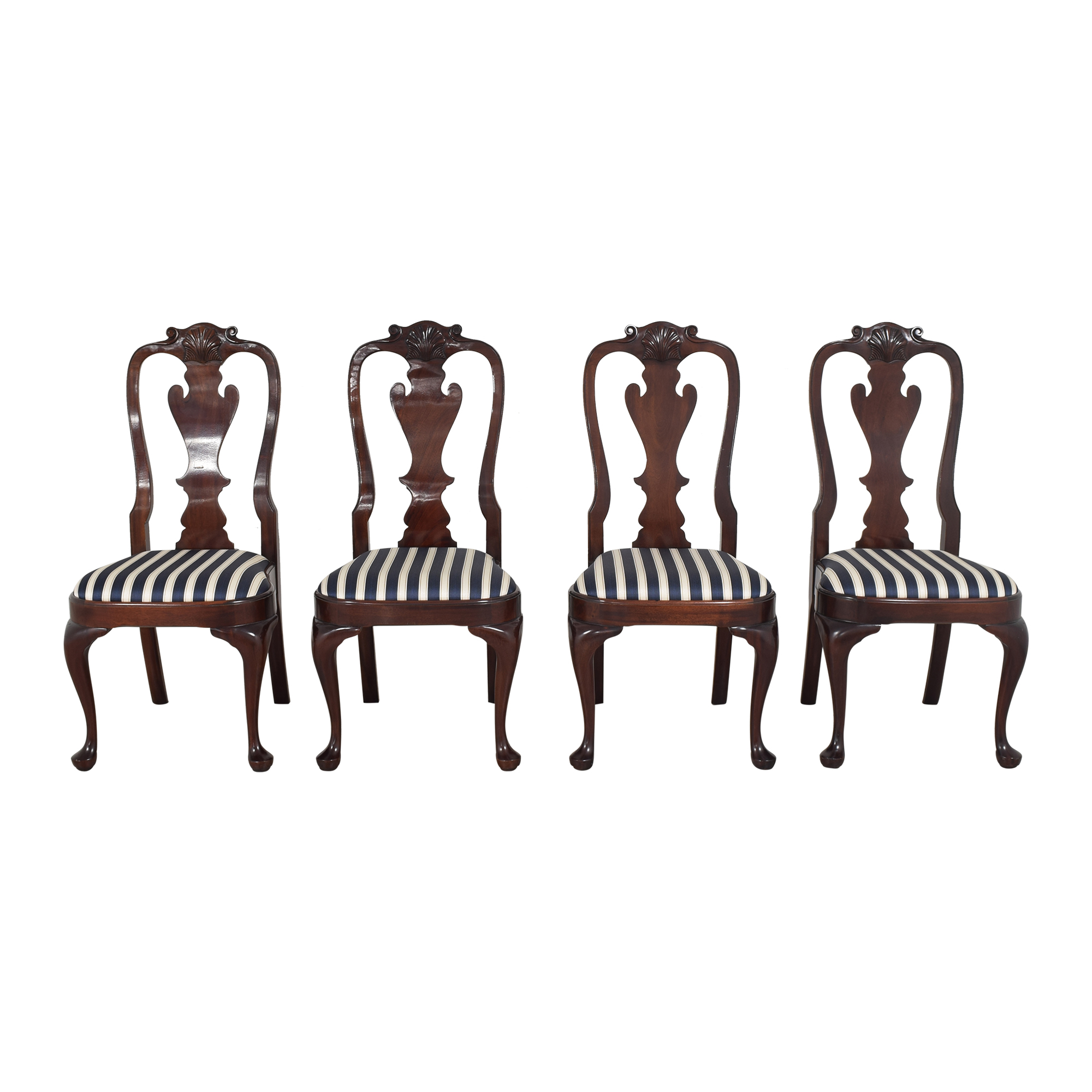 buy Stickley Furniture Queen Anne-Style Dining Chairs Stickley Furniture Chairs