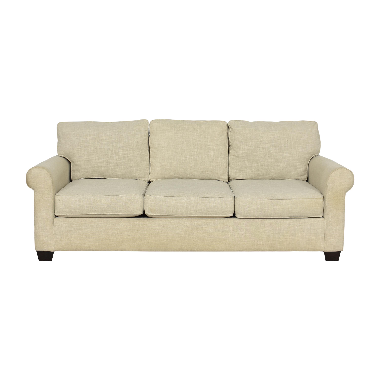 Pottery Barn Buchanan Roll Arm Upholstered Sofa / Classic Sofas