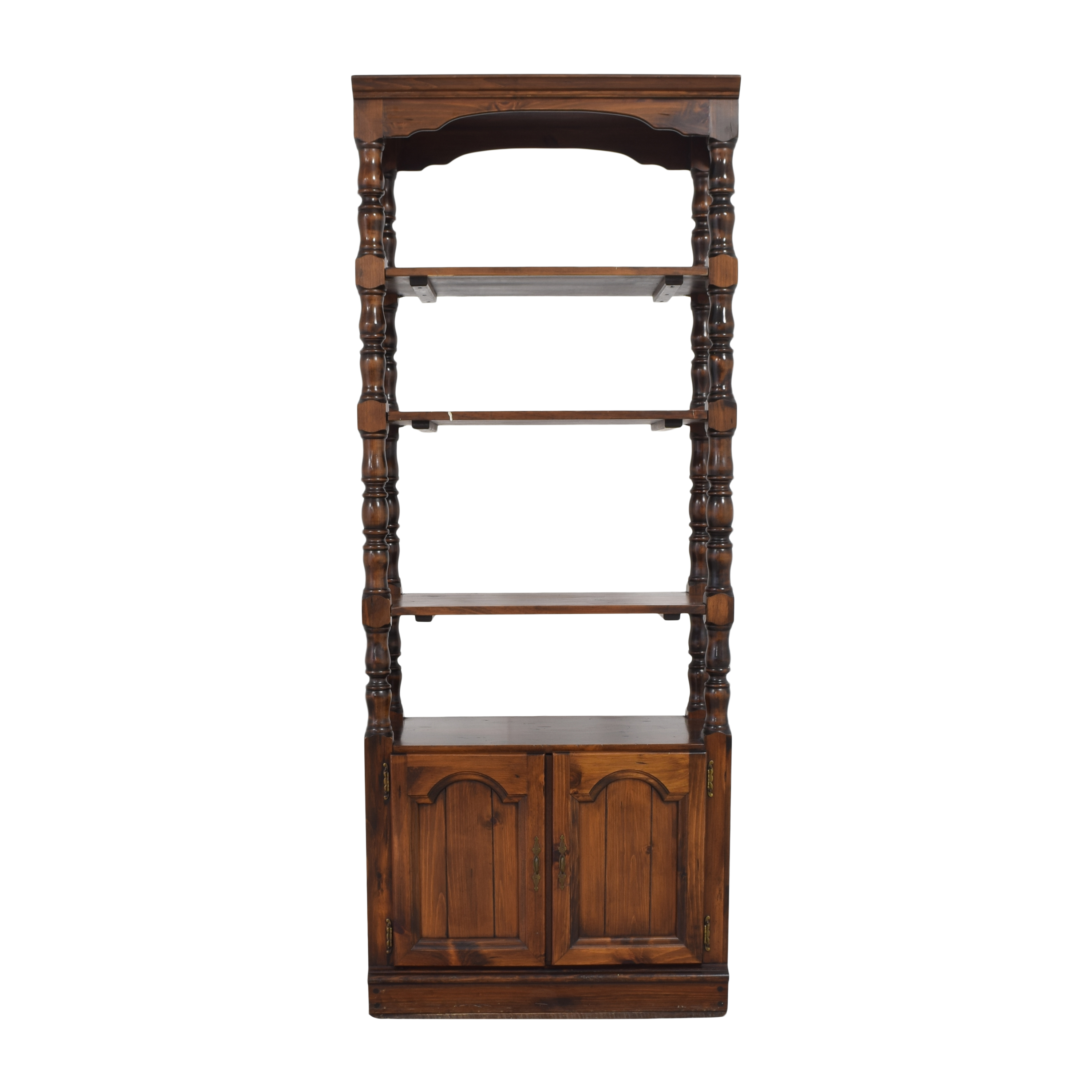 Decorative Shelving Unit with Cabinet pa