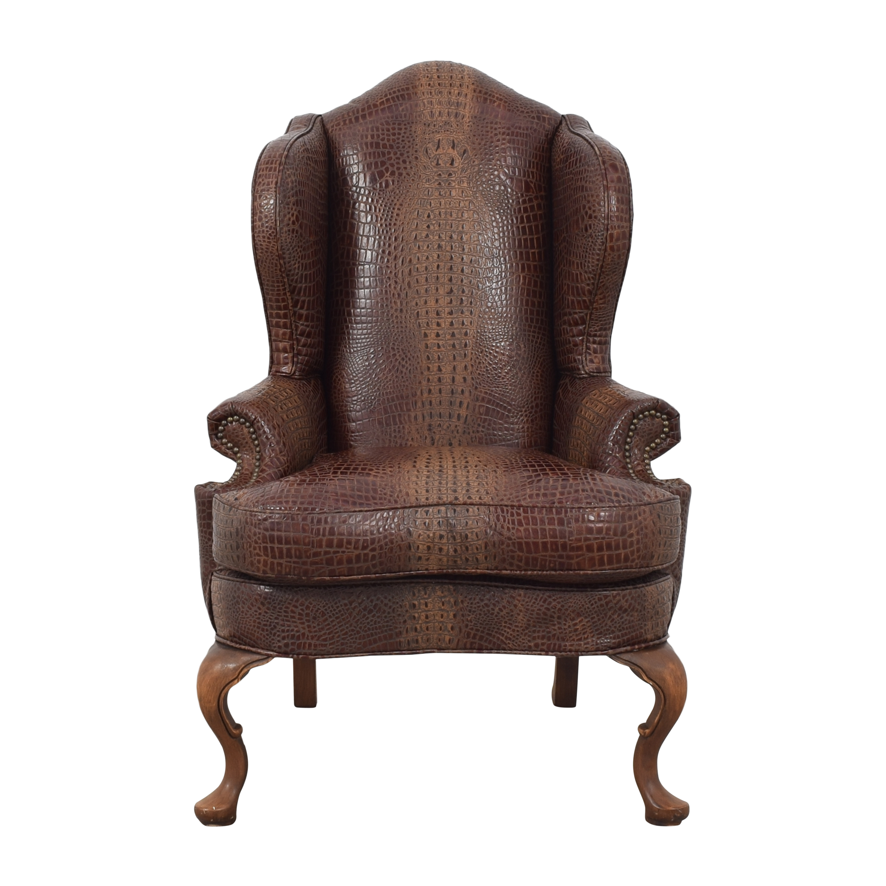 Old Hickory Tannery Wing Chair / Accent Chairs