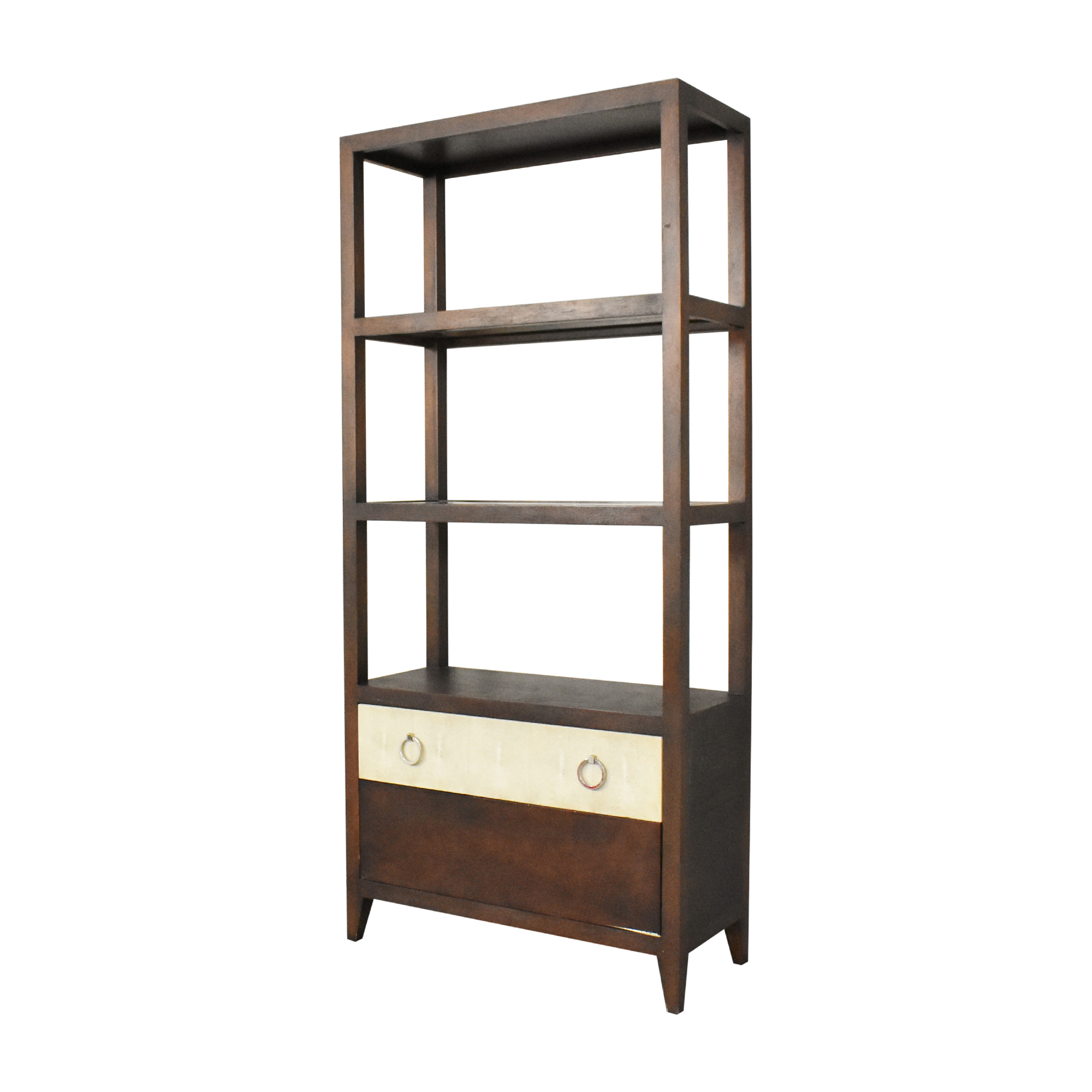 Lillian August Hickory White for Lillian August Breuer Etagere dimensions