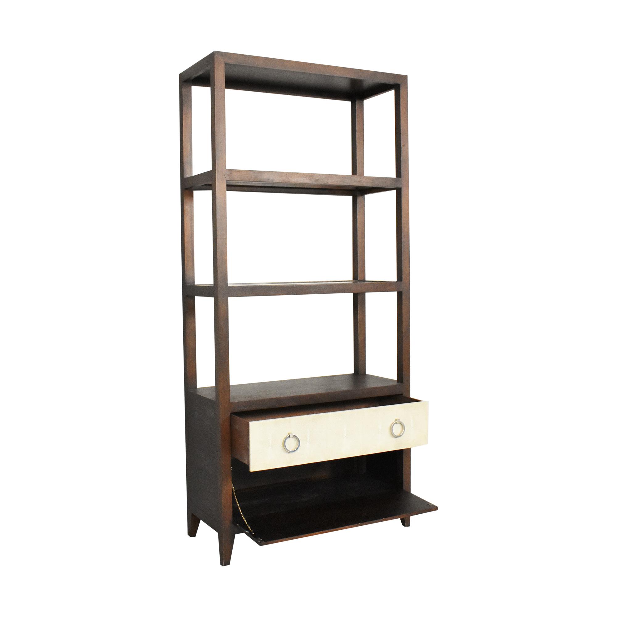 Hickory White for Lillian August Breuer Etagere / Bookcases & Shelving
