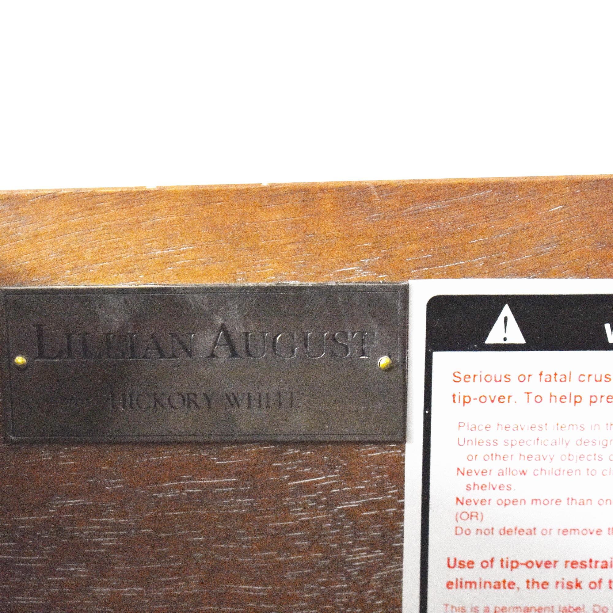 Lillian August Hickory White for Lillian August Breuer Etagere pa