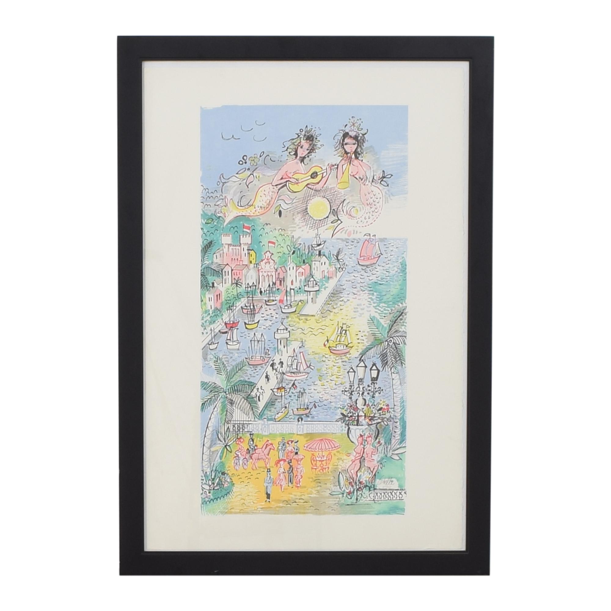 Charles Cobelle Monaco Print used