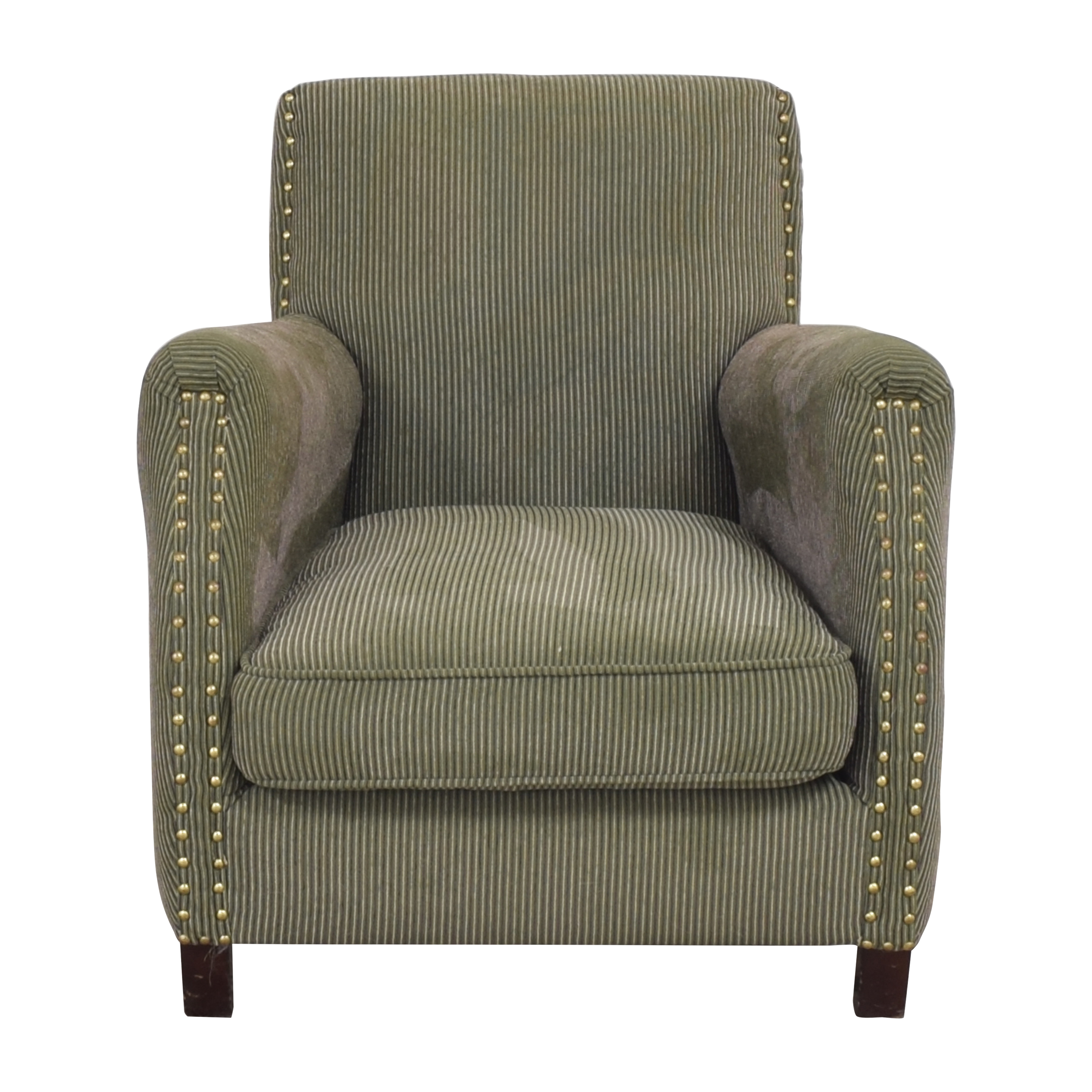 Ellis Home Furnishings Ellis Home Furnishing Striped Accent Chair nyc