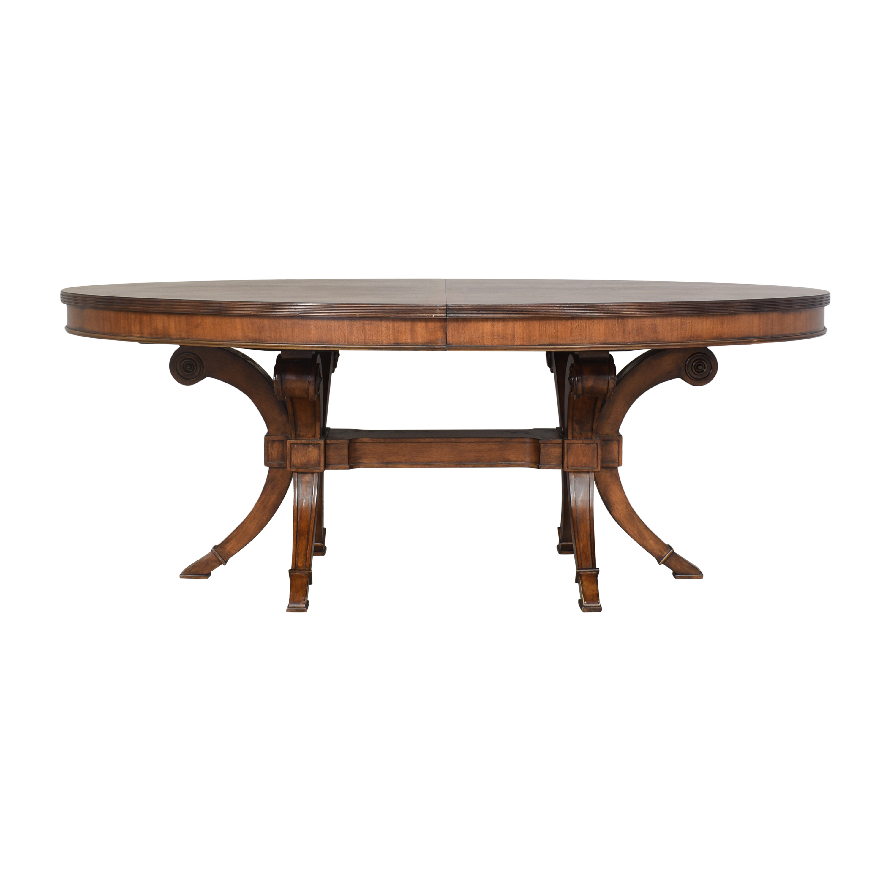 Havertys Havertys Oval Extendable Dining Table ct