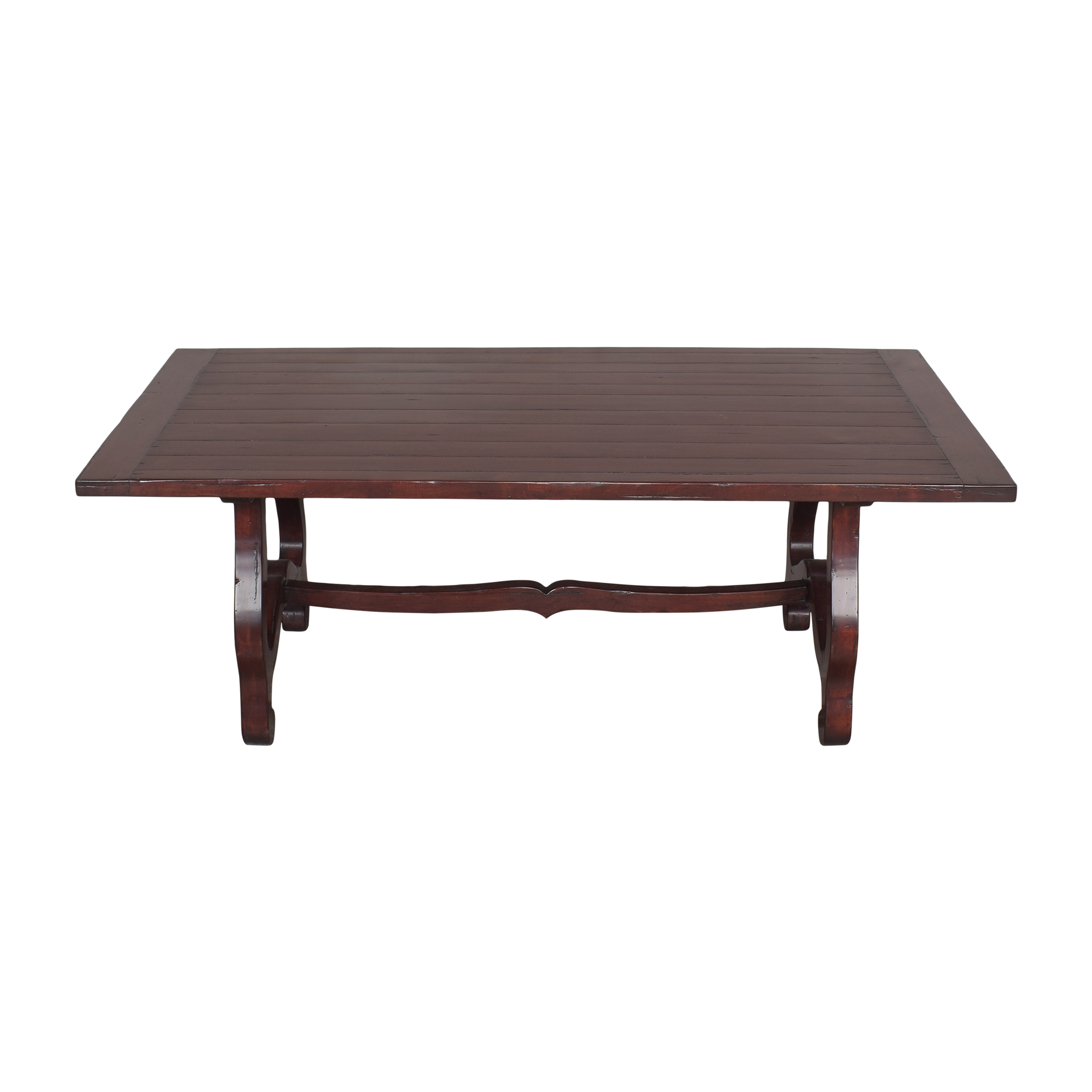 Guy Chaddock & Co. Guy Chaddock & Co Country English Trestle Dining Table on sale