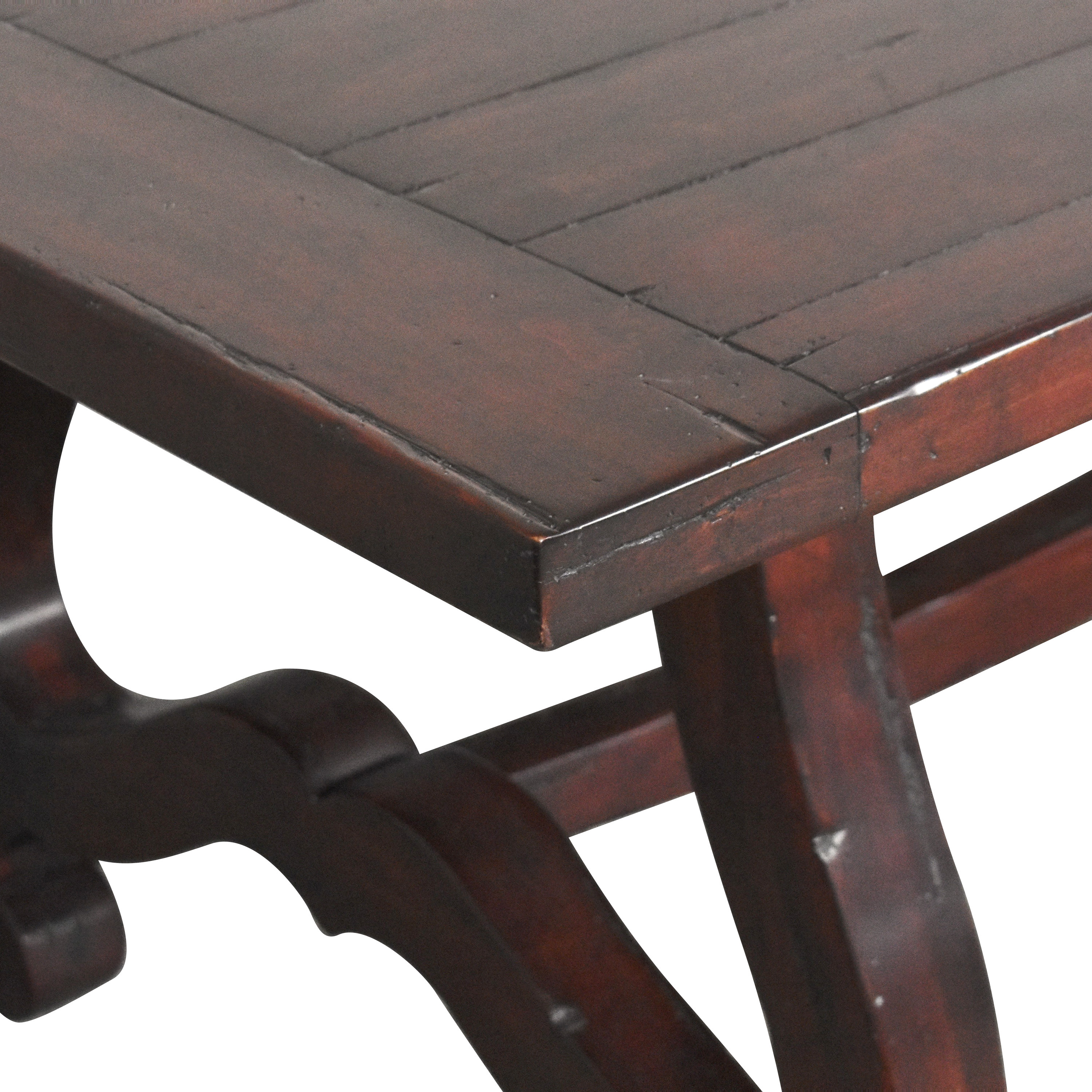 shop Guy Chaddock & Co Country English Trestle Dining Table Guy Chaddock & Co. Tables
