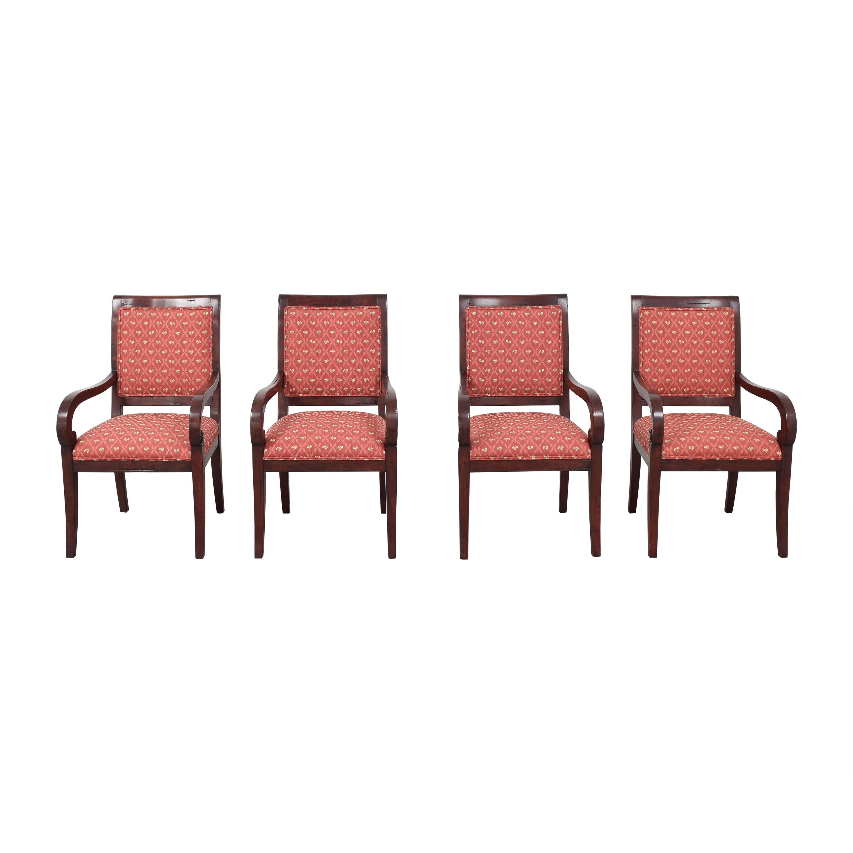 Guy Chaddock & Co. Guy Chaddock & Co. Custom Fordham Dining Arm Chairs for sale