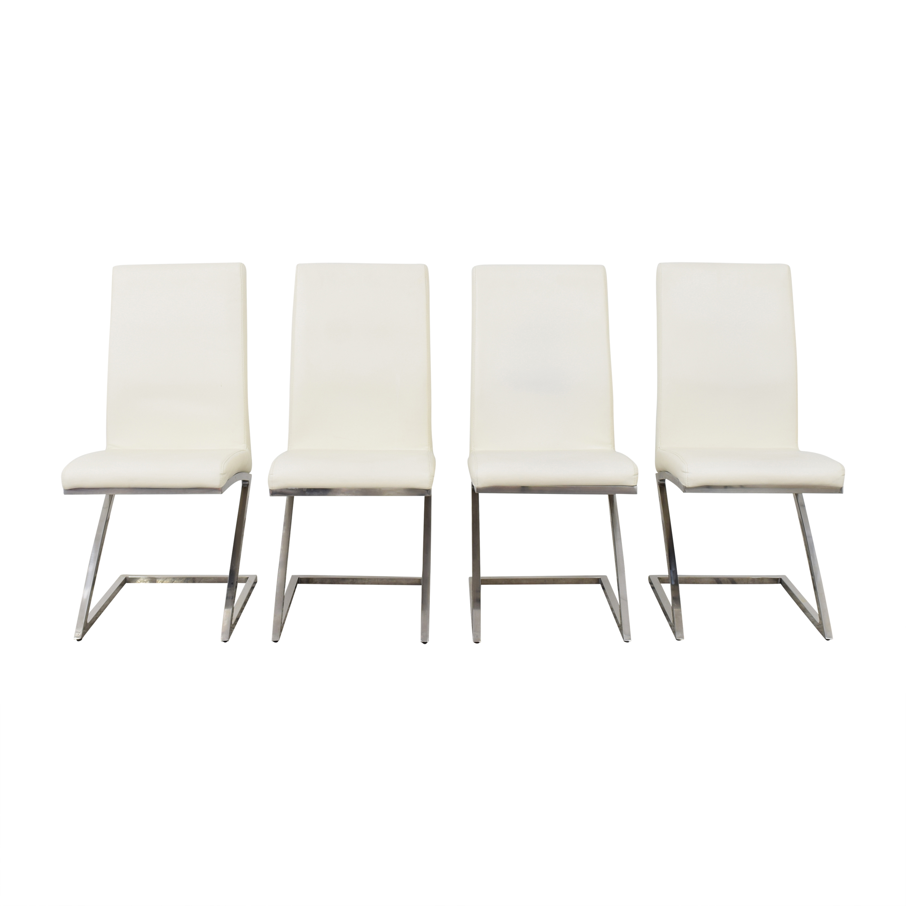 Chintaly Imports Chintaly Imports Jade Cantilever Dining Chairs discount