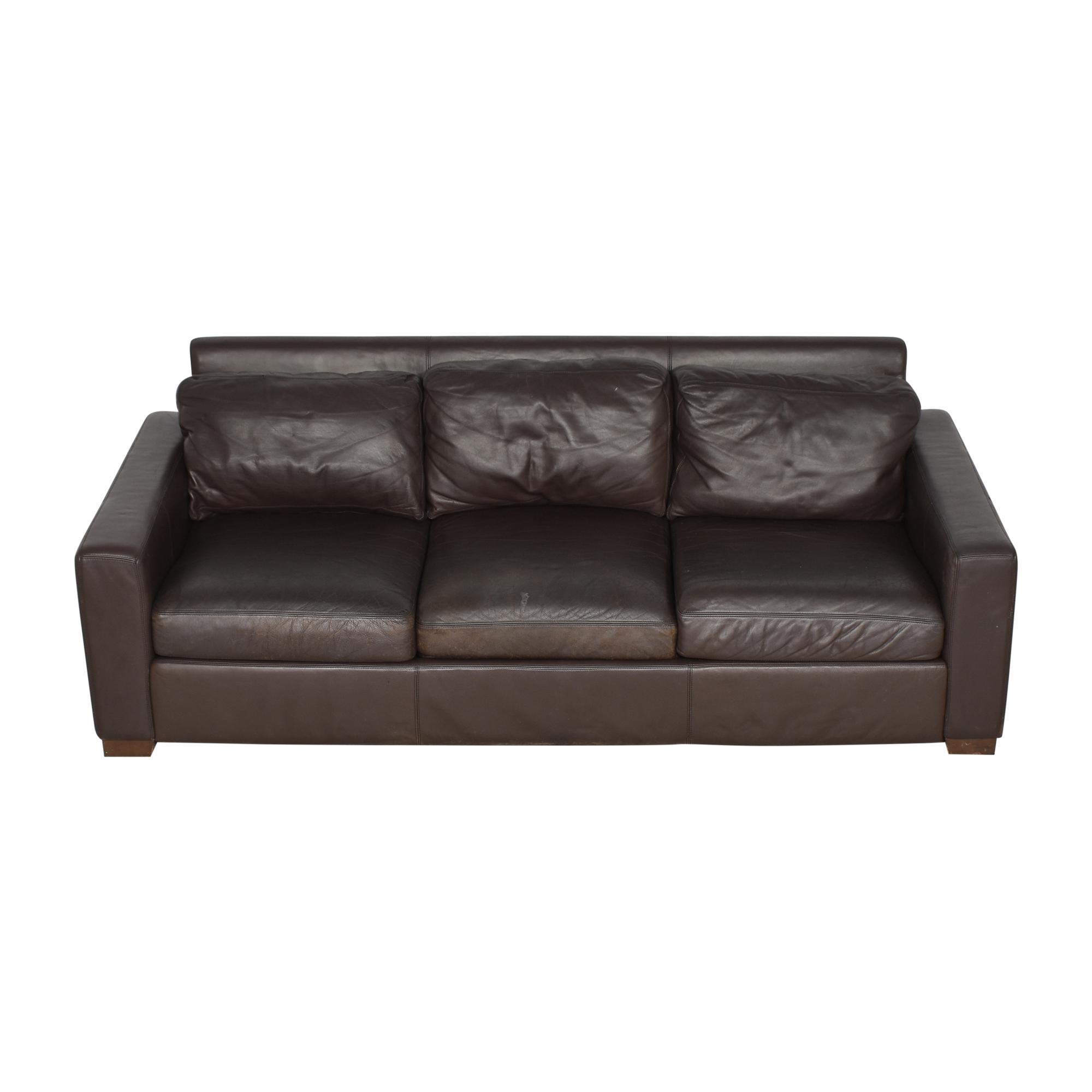 Design Within Reach Portola Three Cushion Sofa sale