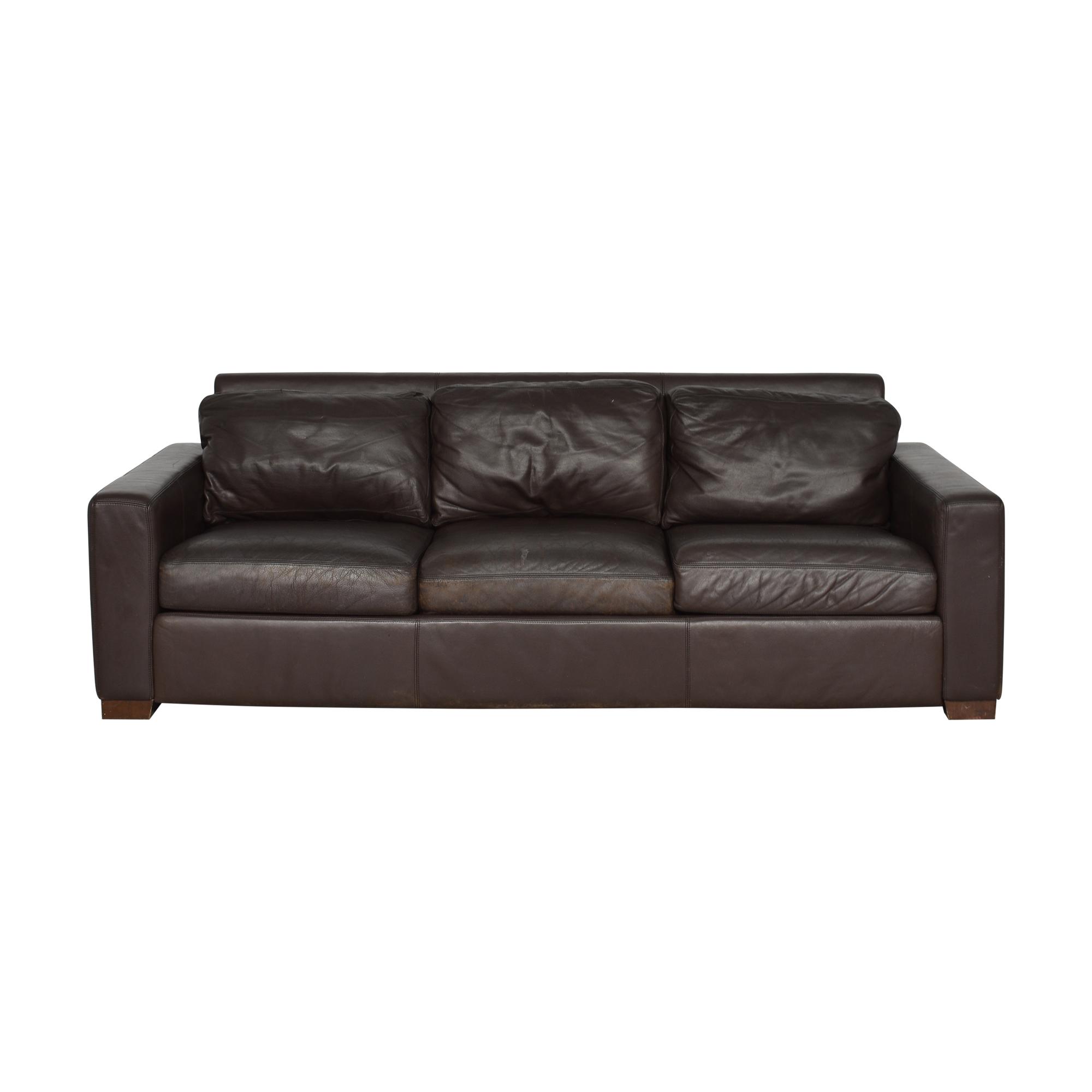 Design Within Reach Design Within Reach Portola Three Cushion Sofa Classic Sofas