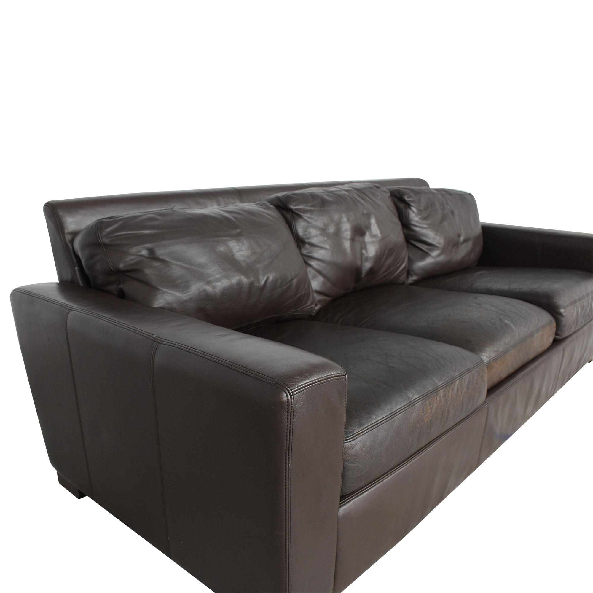 shop Design Within Reach Design Within Reach Portola Three Cushion Sofa online