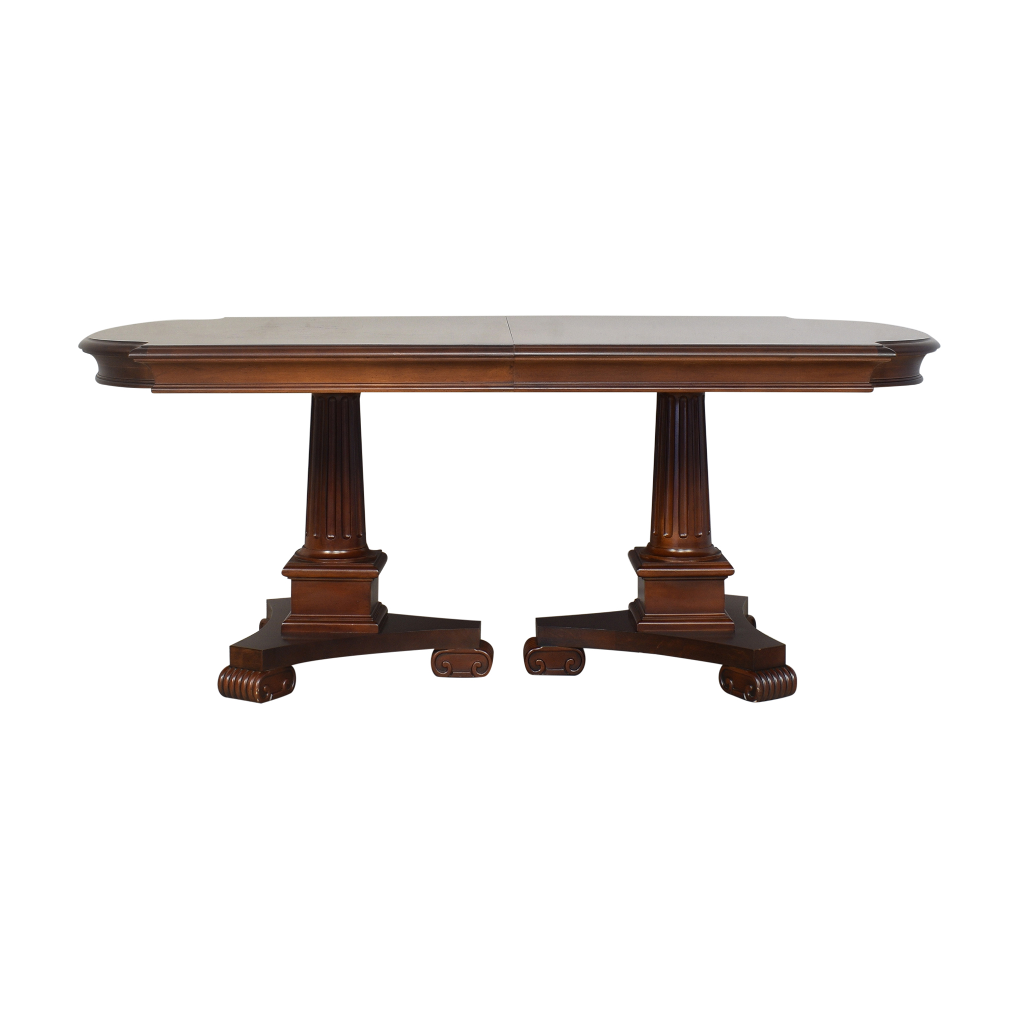 Stanley Furniture Double Pedestal Dining Table / Dinner Tables