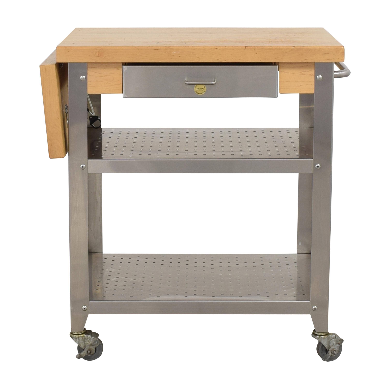 shop John Boos Cucina Elegante Cart John Boos Utility Tables