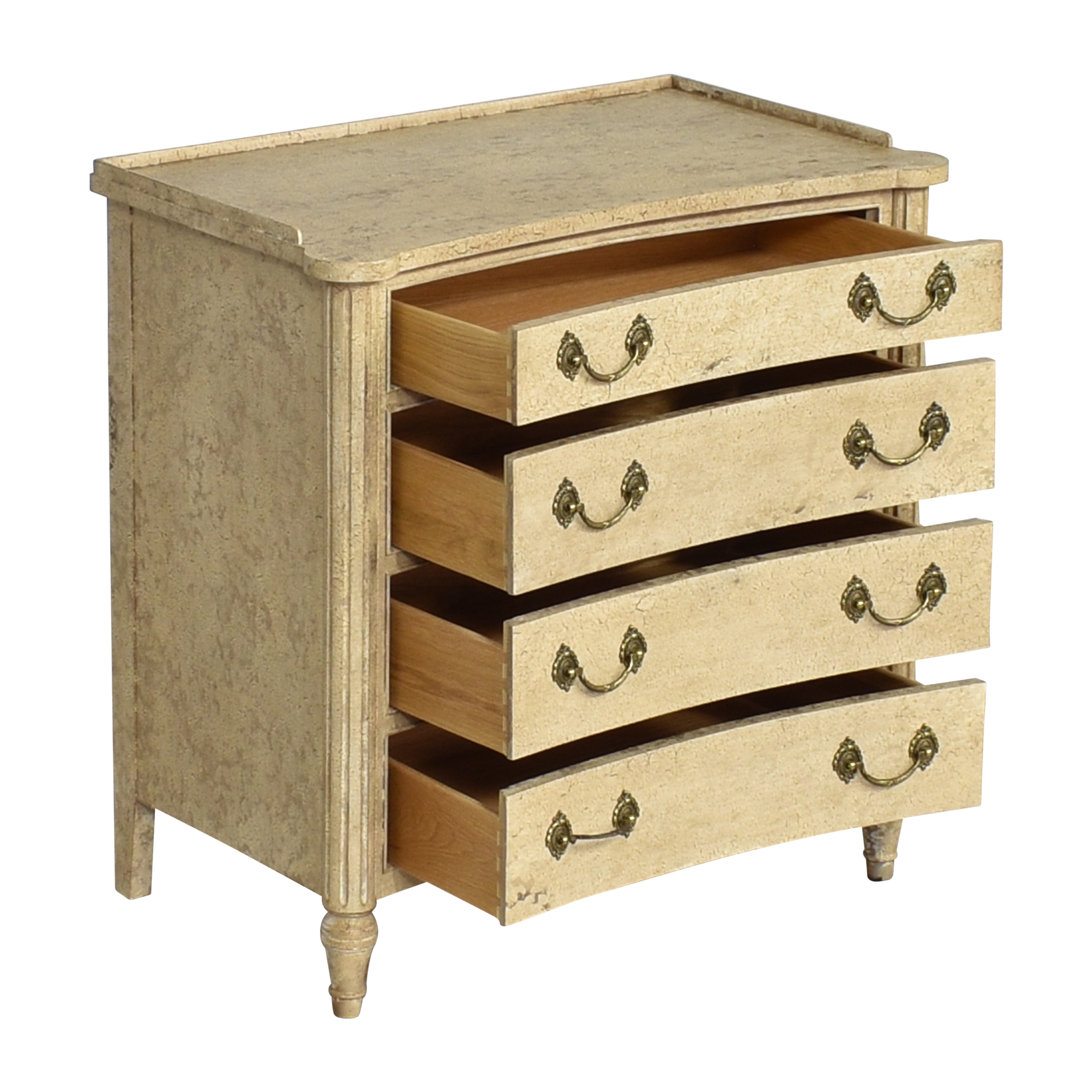 Councill Councill Neoclassical Four Drawer Bachelor Chest nyc