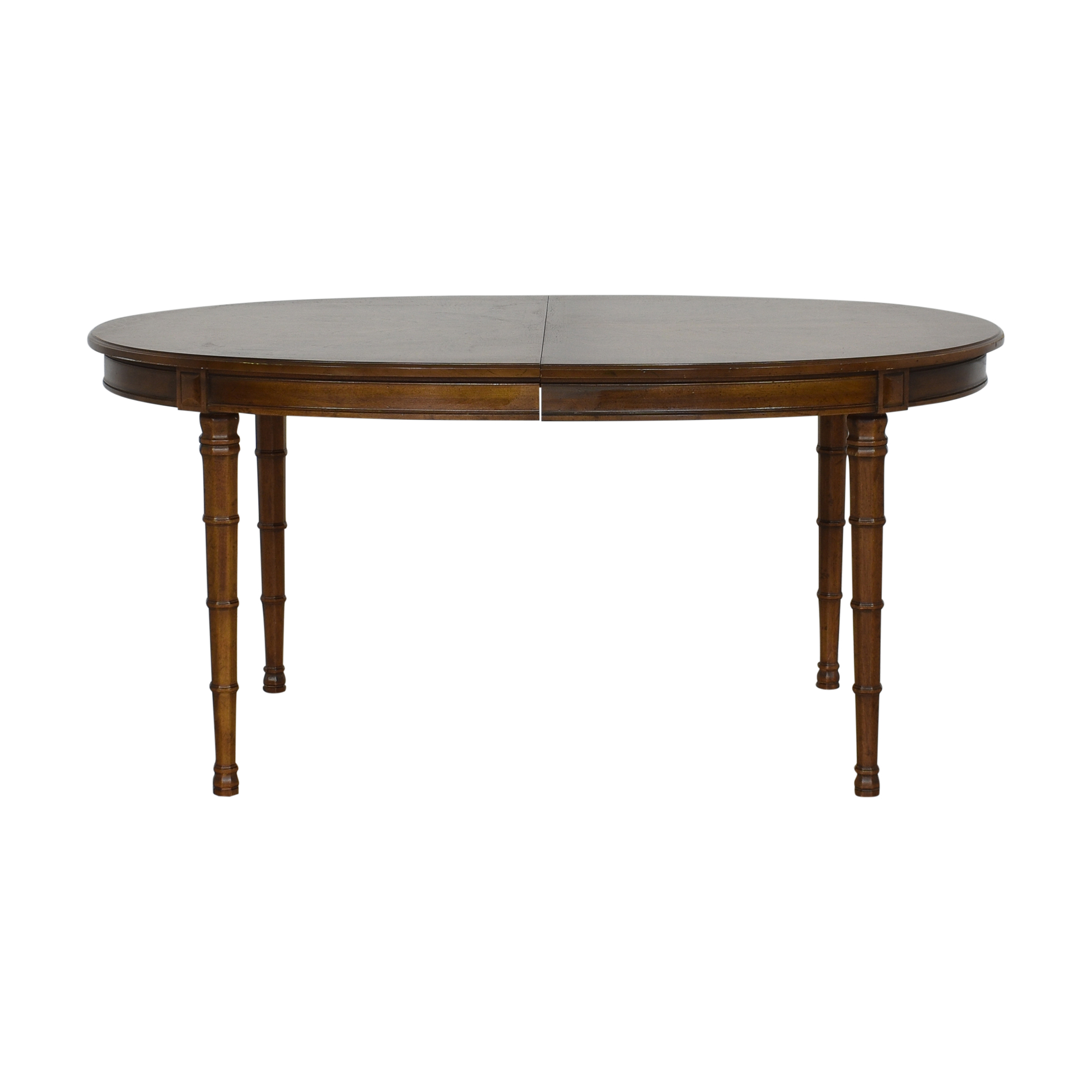 Henredon Oval Extendable Dining Table / Dinner Tables