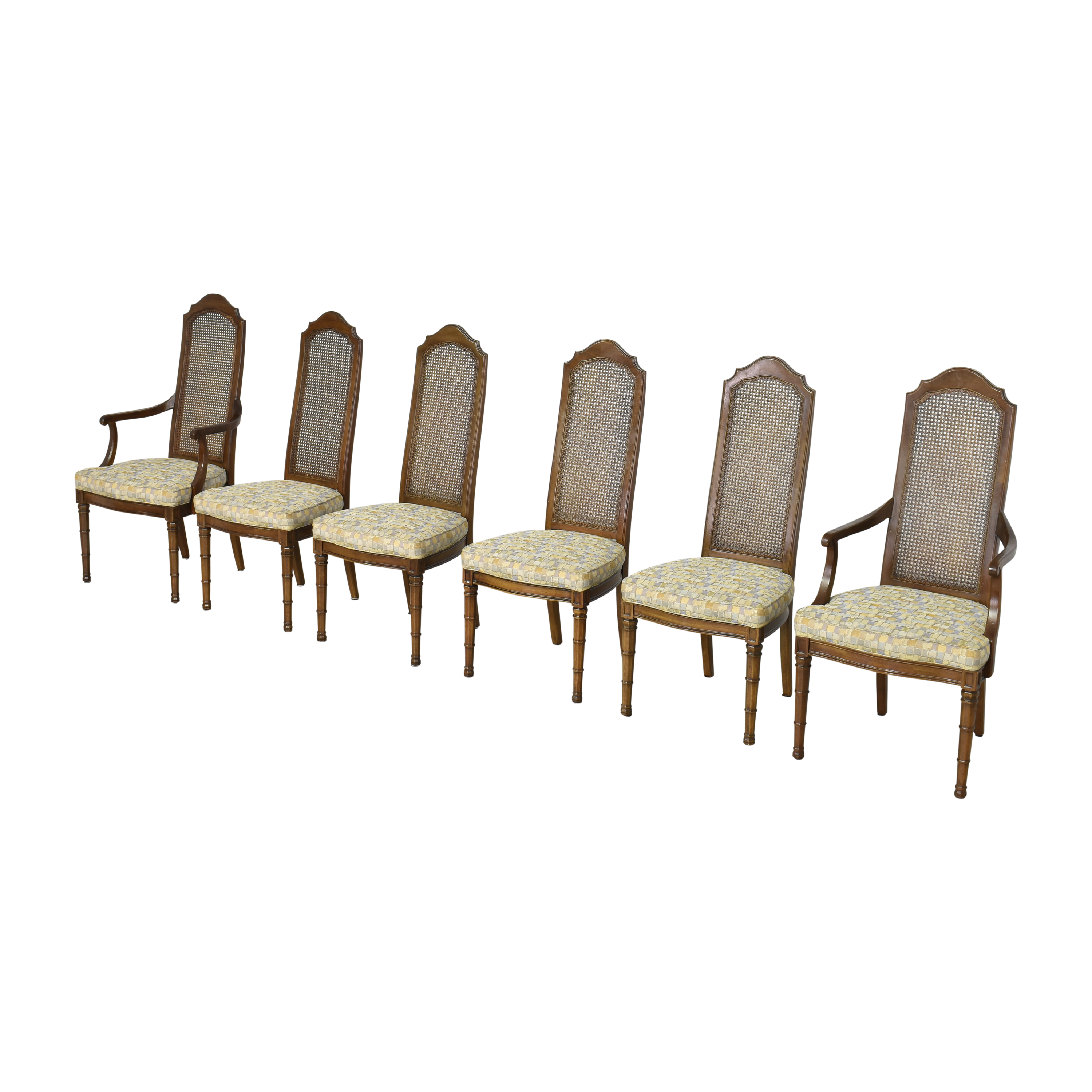 shop Henredon Cane Back Dining Chairs Henredon Furniture Dining Chairs