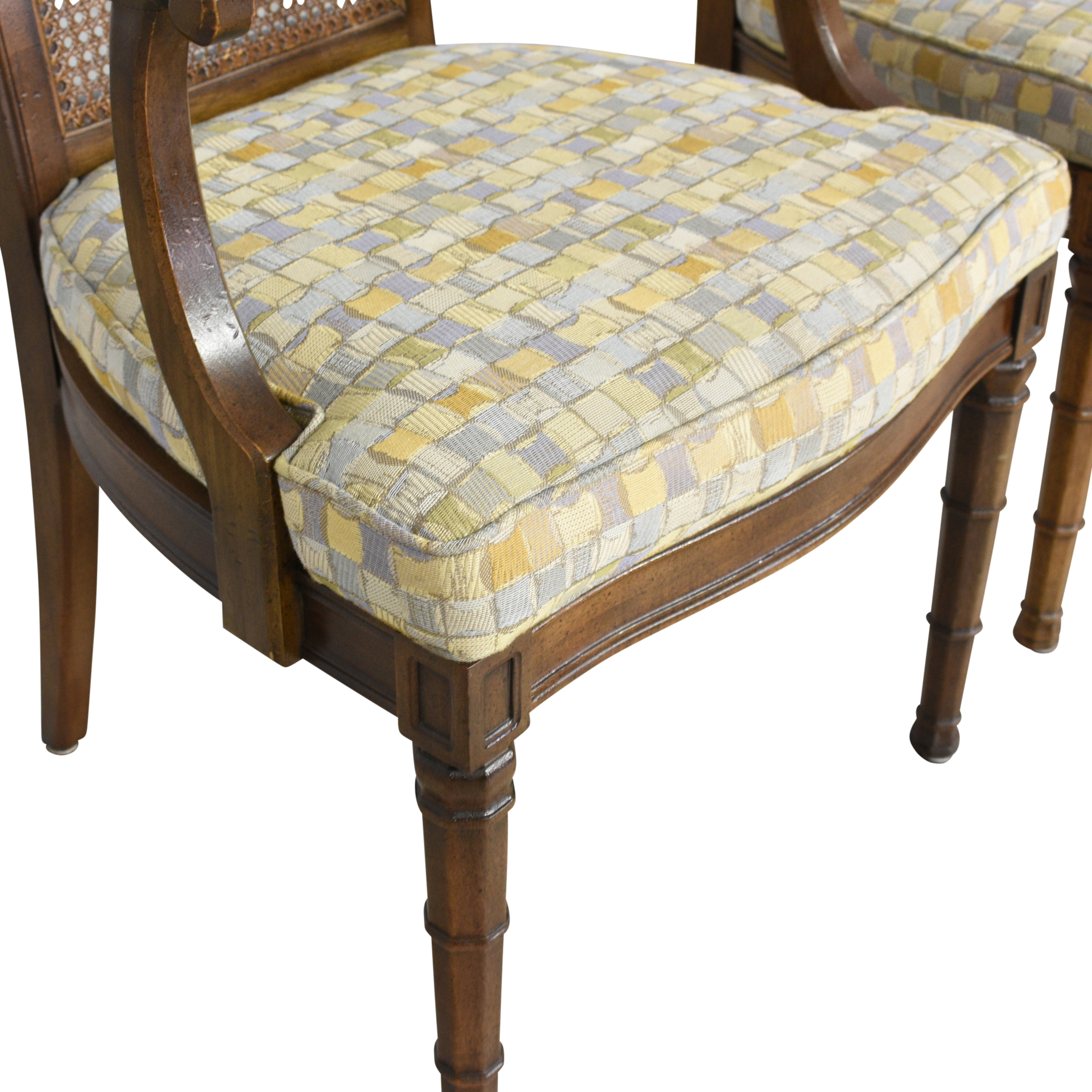 Henredon Cane Back Dining Chairs / Chairs