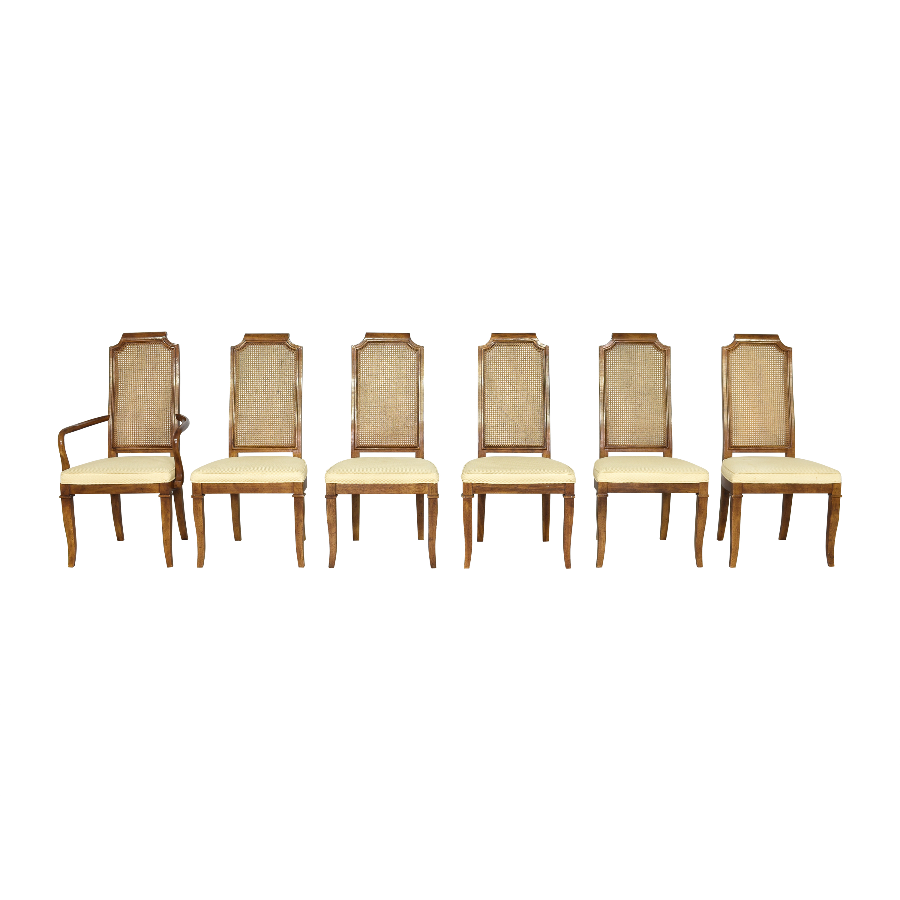 Drexel Heritage Drexel Heritage Cane Back Dining Chairs