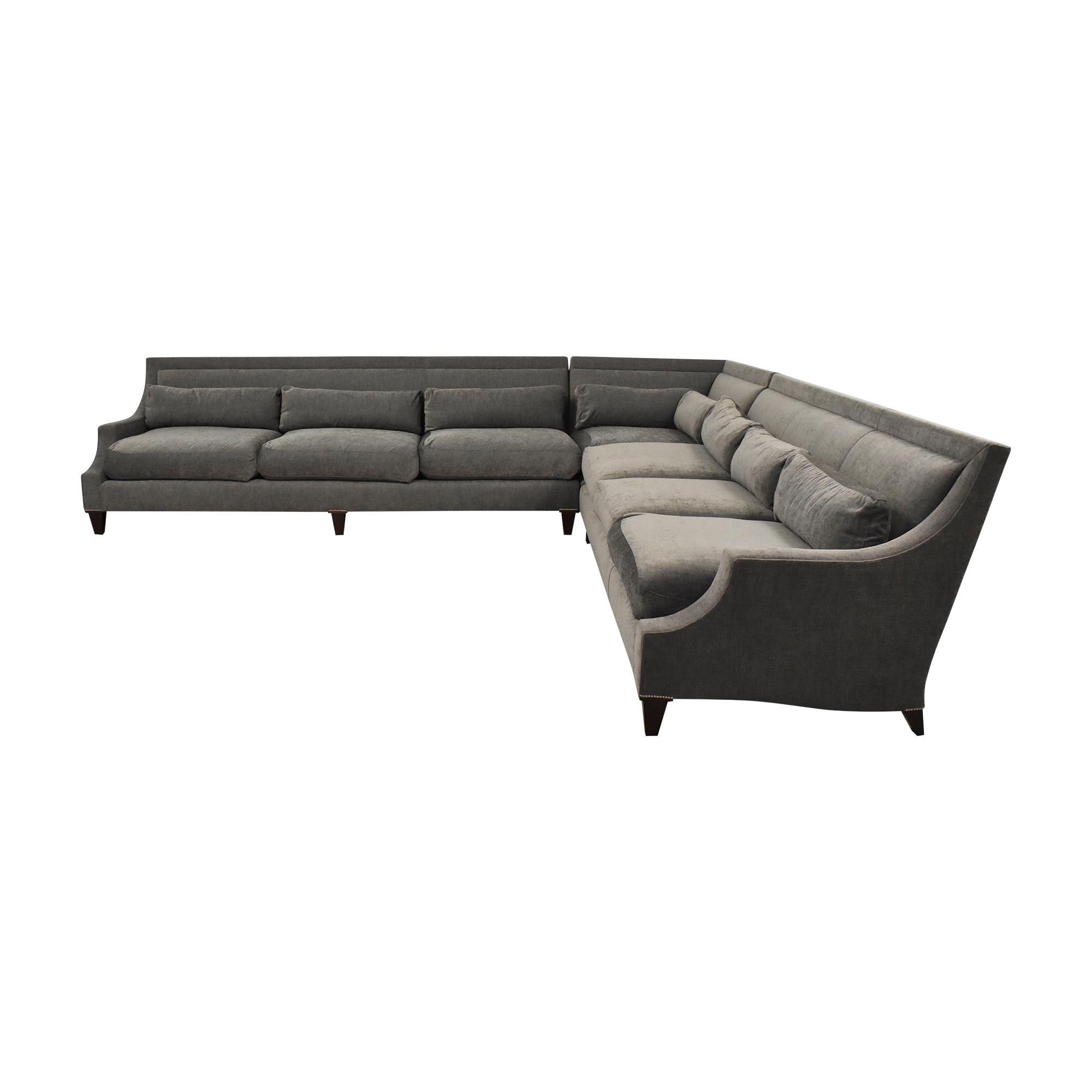 shop Baker Furniture Corner Sectional Sofa Baker Furniture Sectionals