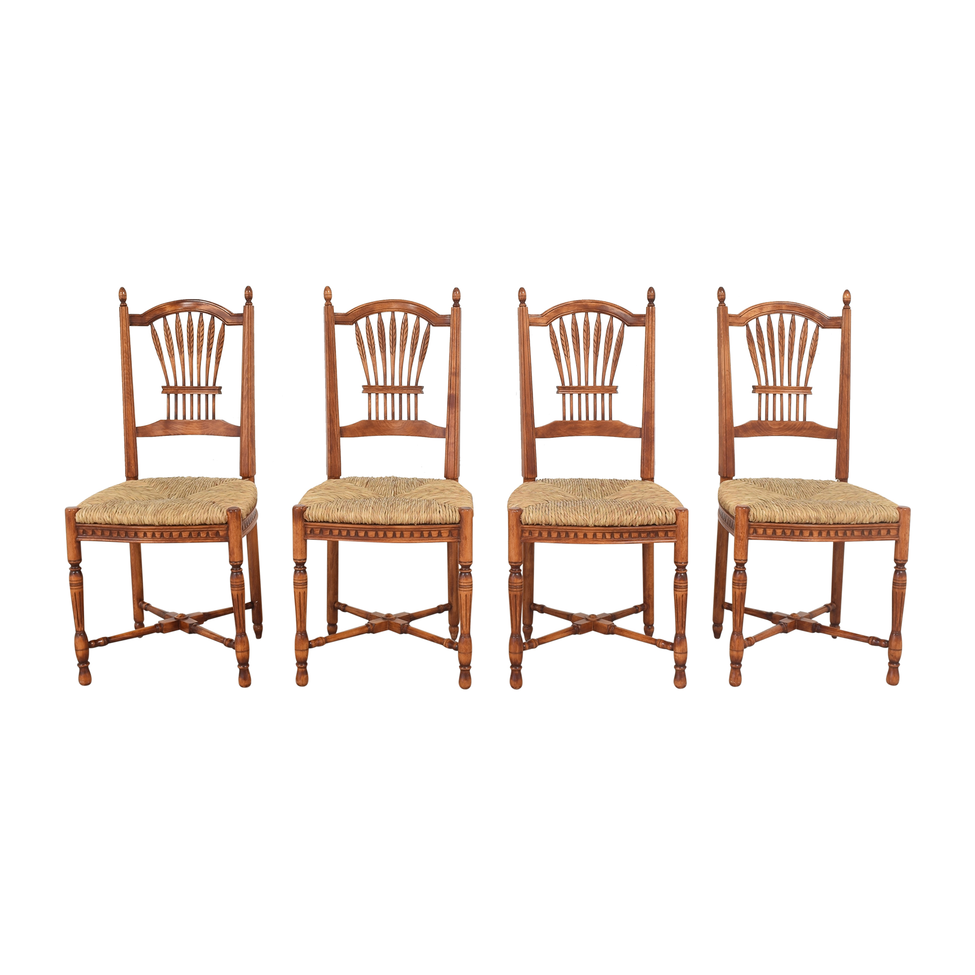 Grange Grange French Country Wheat Back Dining Side Chairs on sale