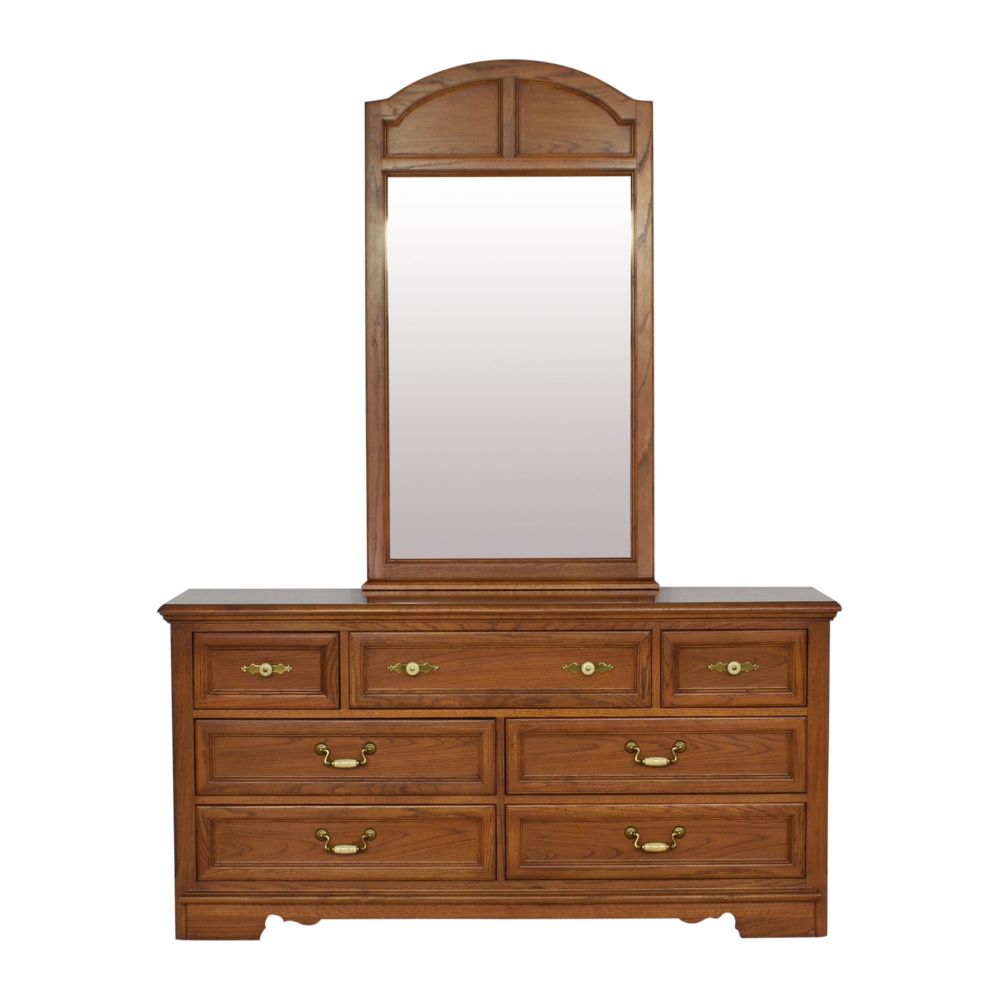 Thomasville Thomasville Homecoming Dresser with Mirror ct