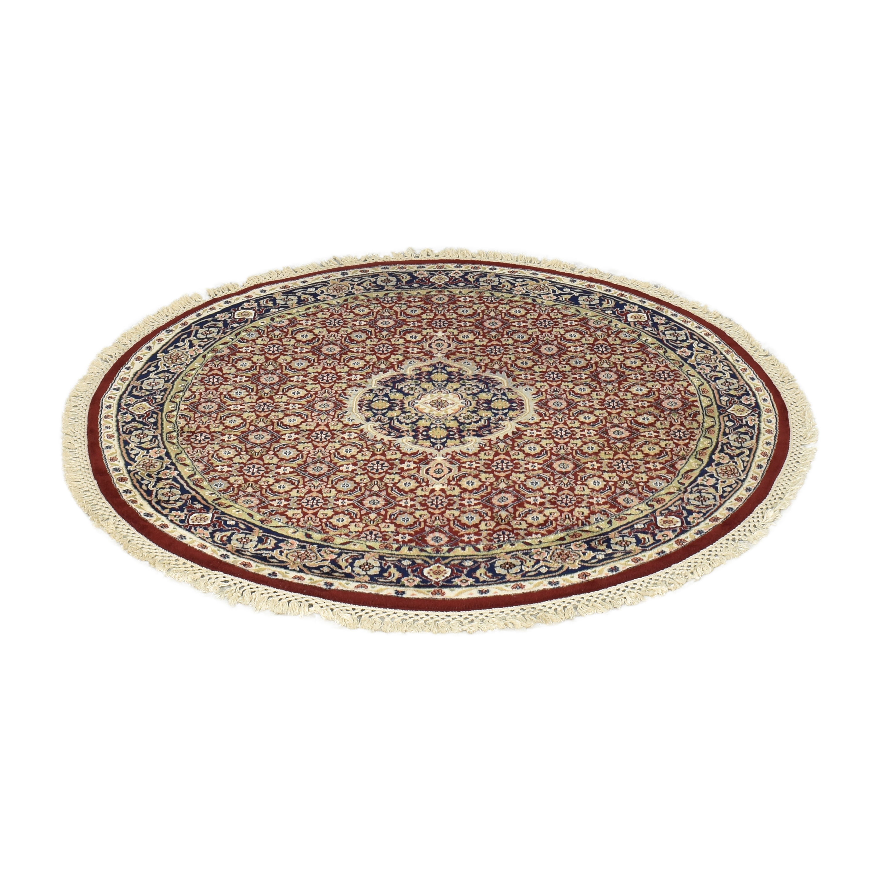 buy Round Patterned Area Rug  Rugs