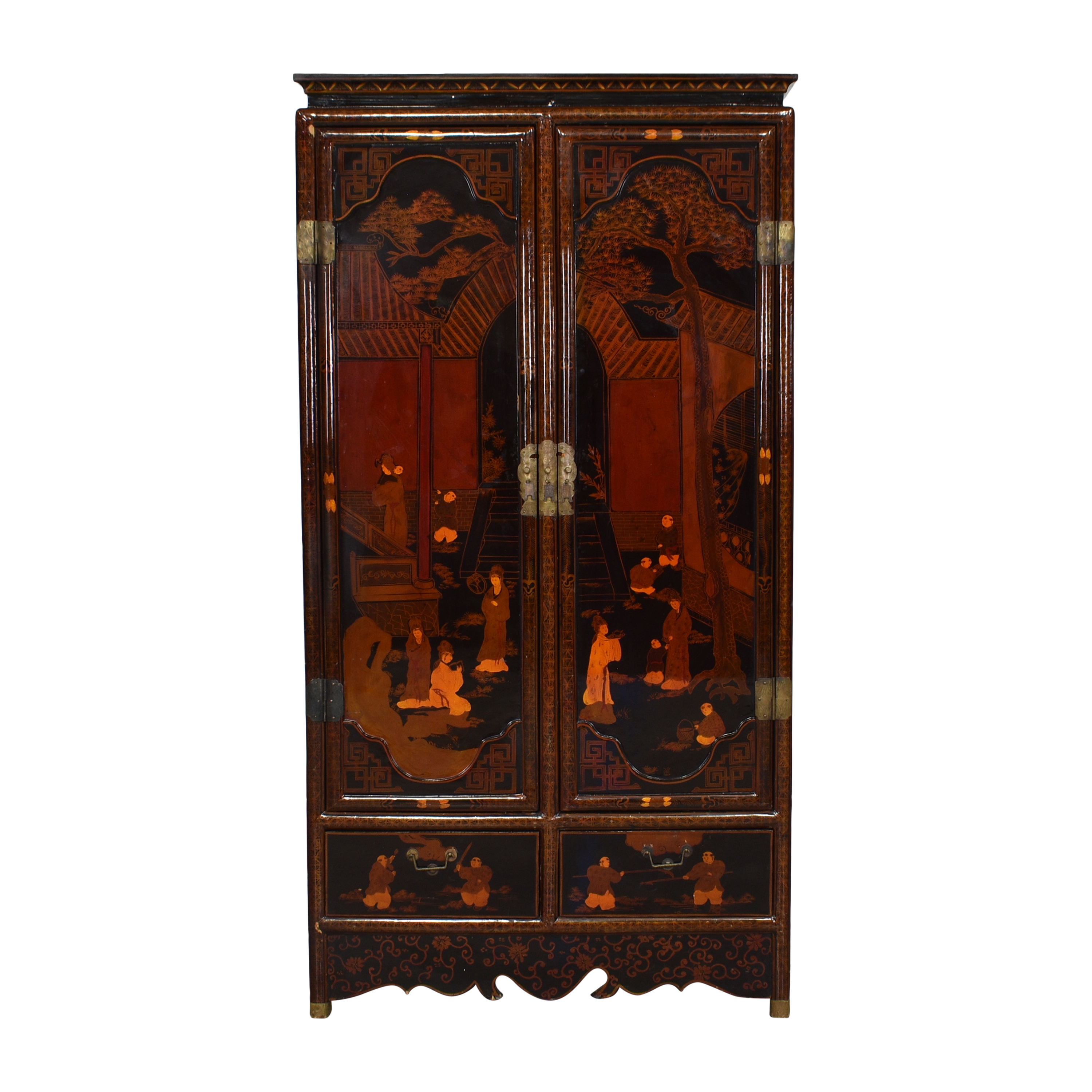 shop Vintage Asian Armoire    Cabinets & Sideboards