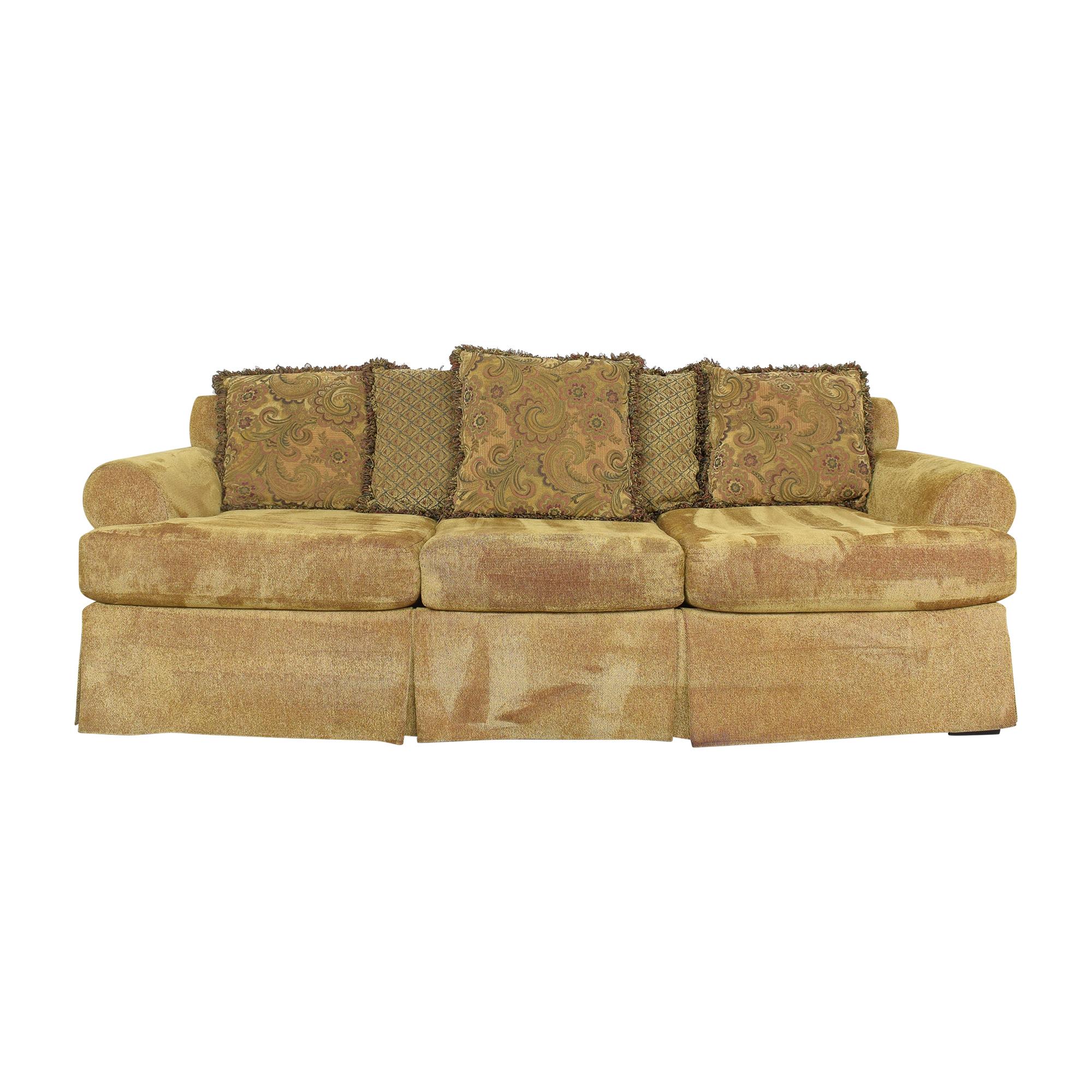 shop Emeraldcraft Emeraldcraft Three Cushion Skirted Sofa online