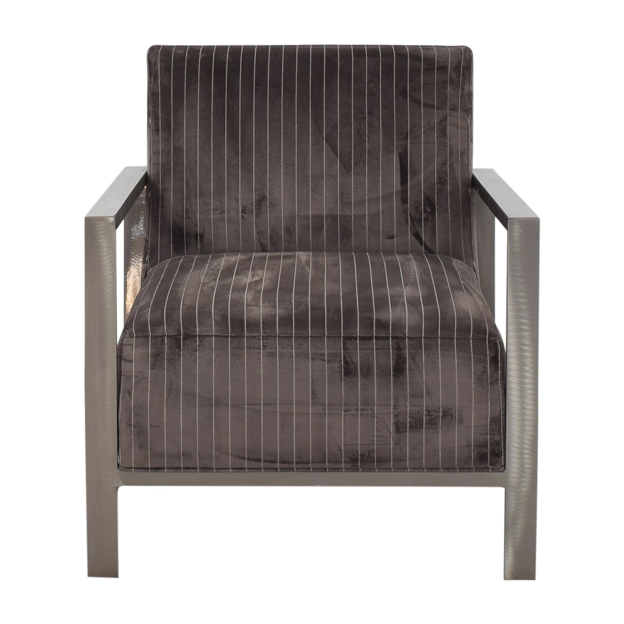 Room & Board McCreary Modern Zinc Chair  nj