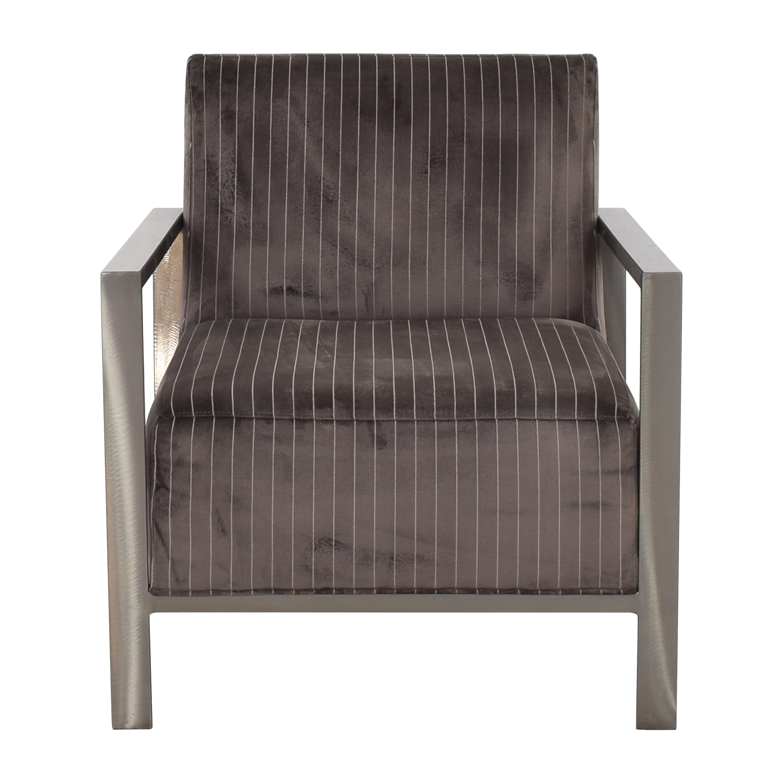 shop Room & Board Zinc Striped Chair Room & Board