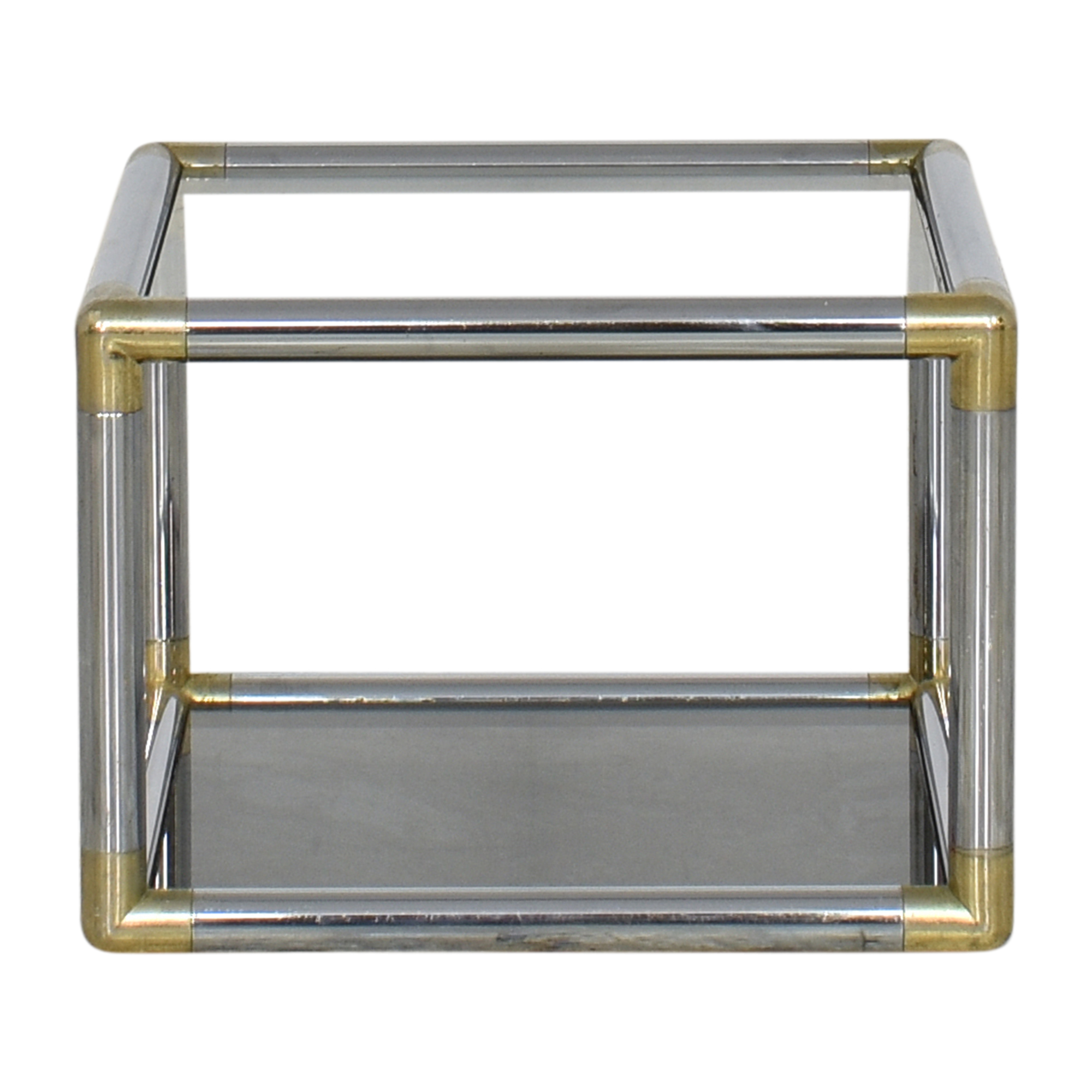 Transparent Square End Table nyc