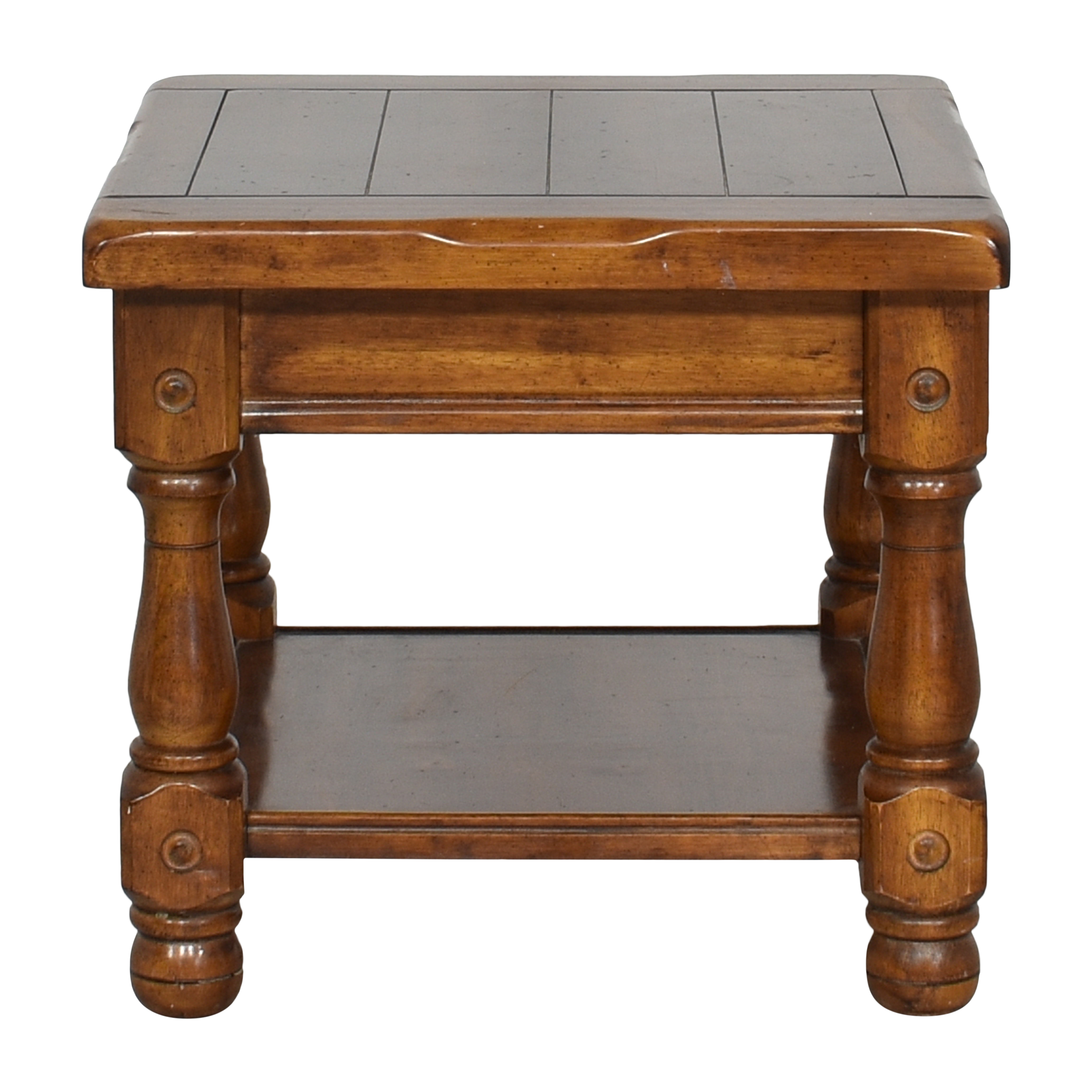 Rustic End Table ma