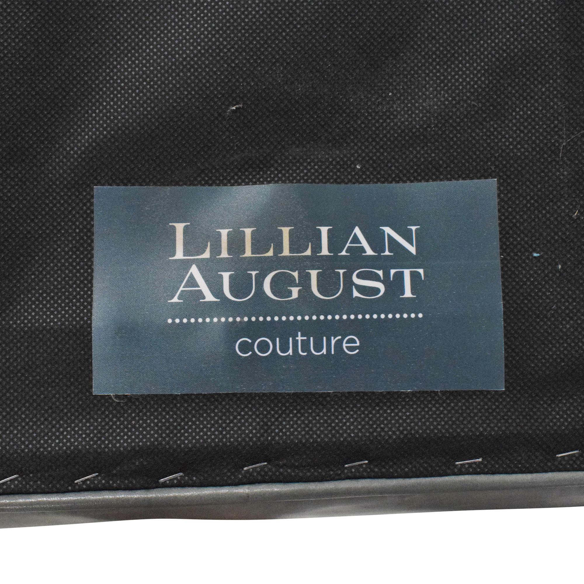 shop Lillian August Couture Nailhead Trim Ottoman Lillian August Storage