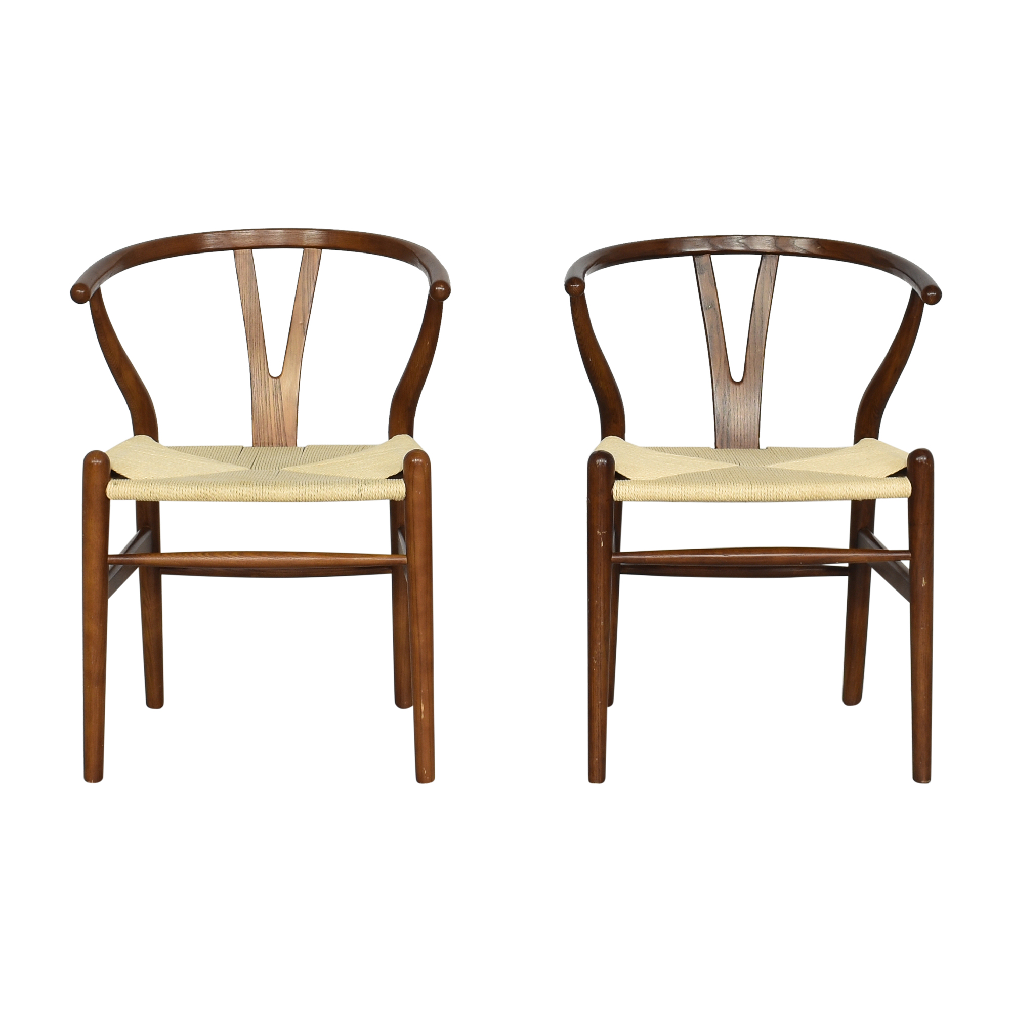 Rove Concepts Rove Concepts Wishbone Chairs dimensions
