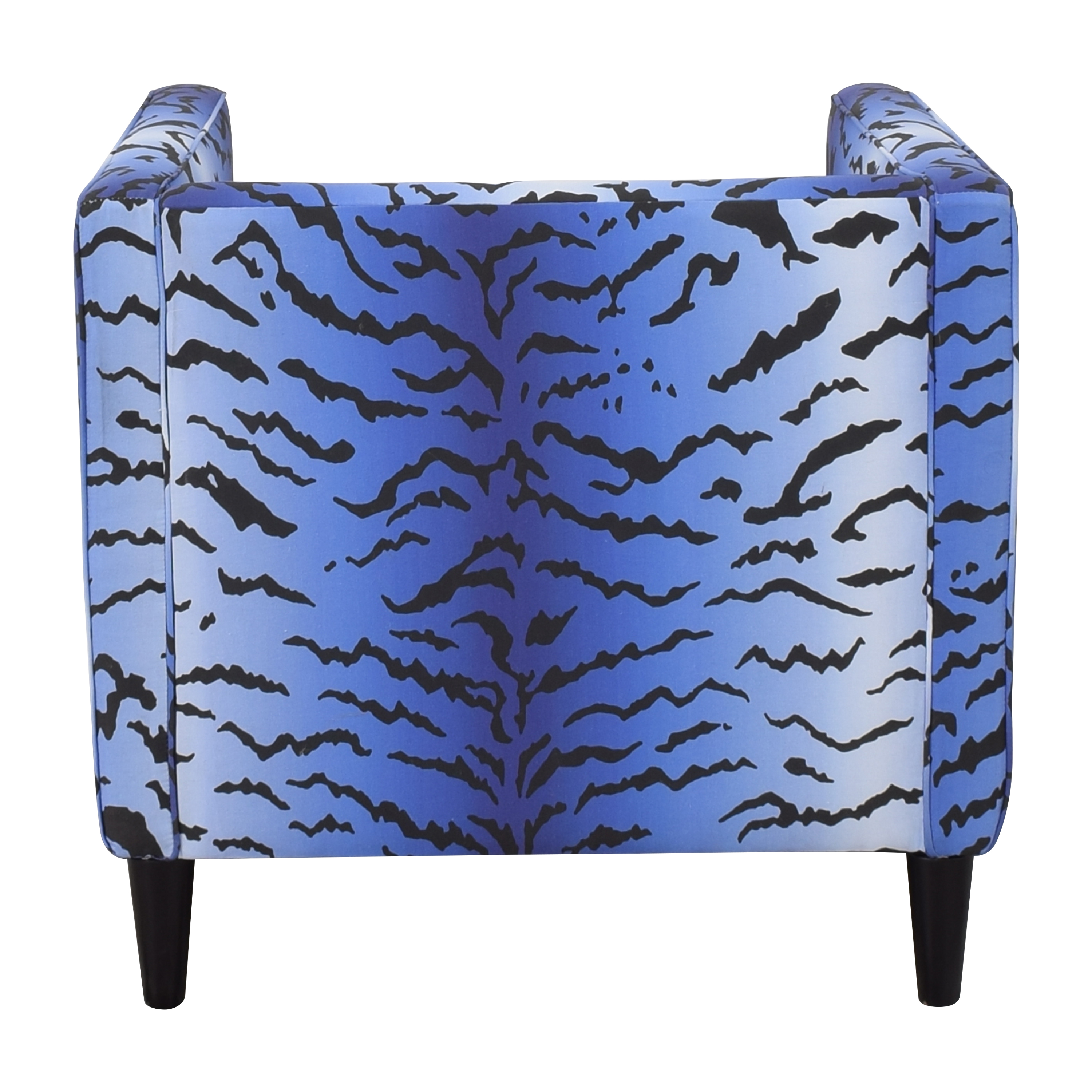 buy The Inside Royal Tiger Tuxedo Chair The Inside Accent Chairs