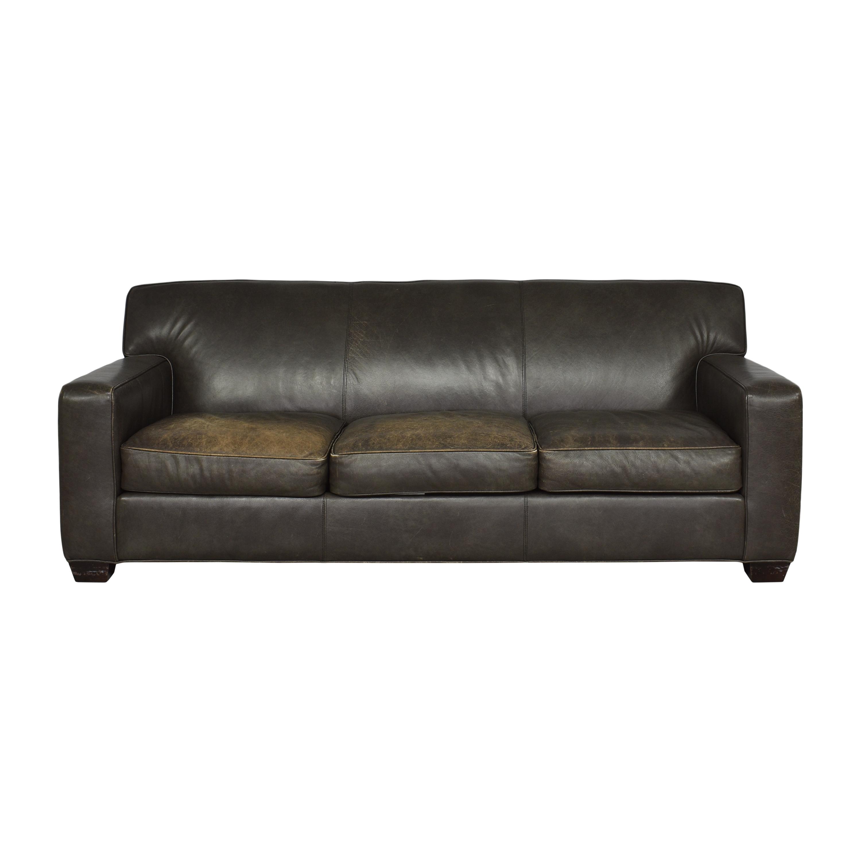 Crate & Barrel Cameron Three Cushion Sofa sale