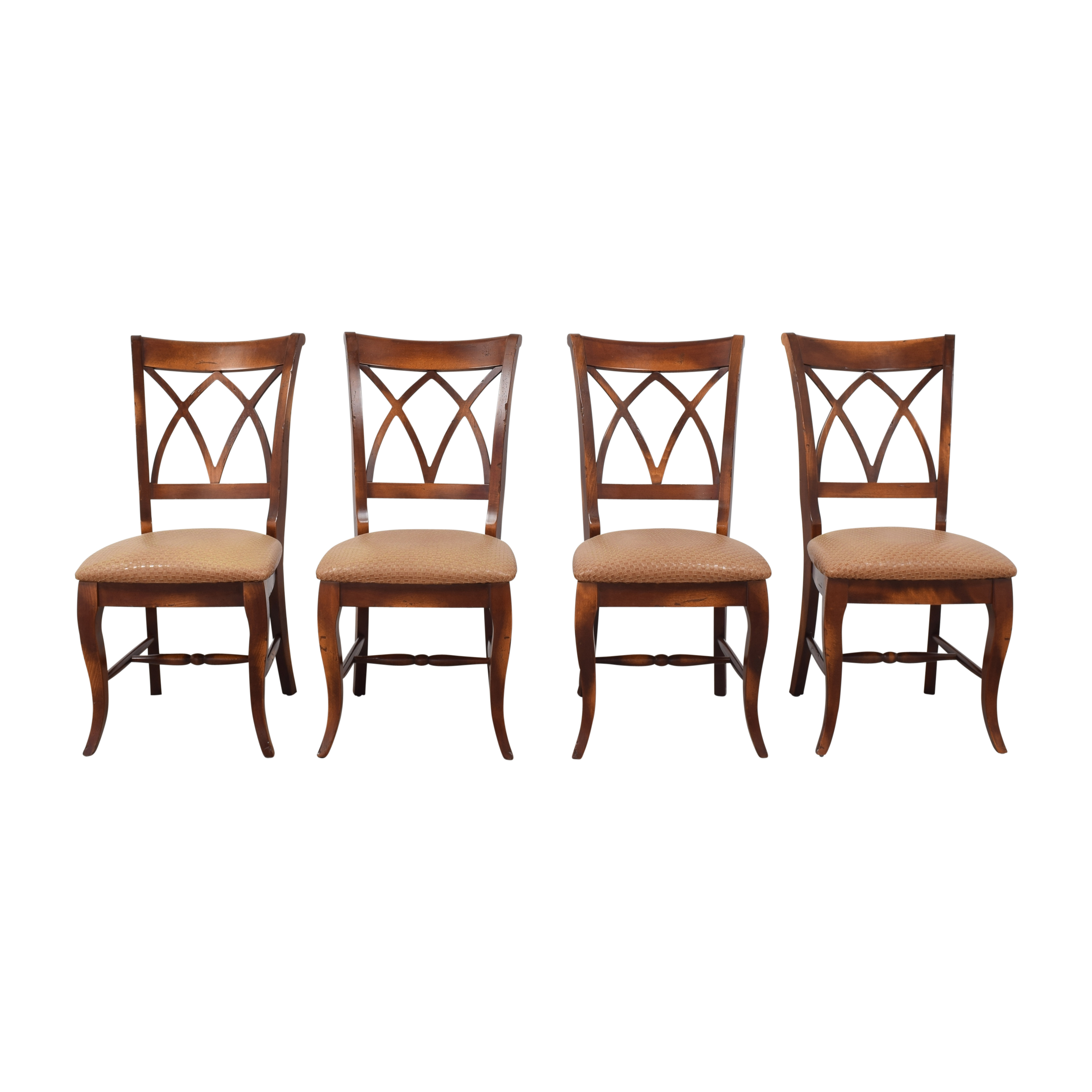 Saloom Saloom Model 18 Upholstered Dining Side Chairs used
