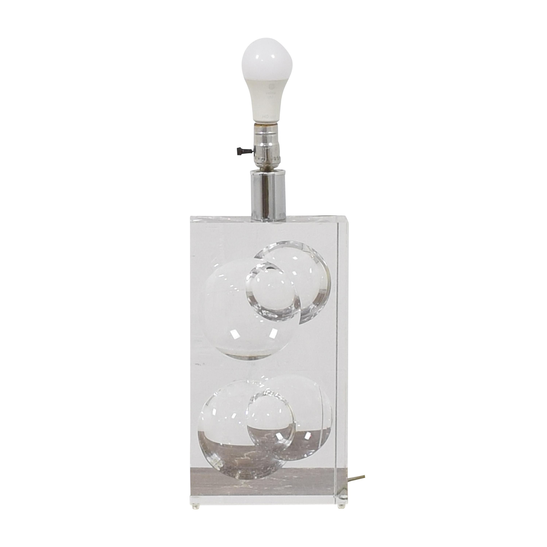 Translucent Block Table Lamp Lamps