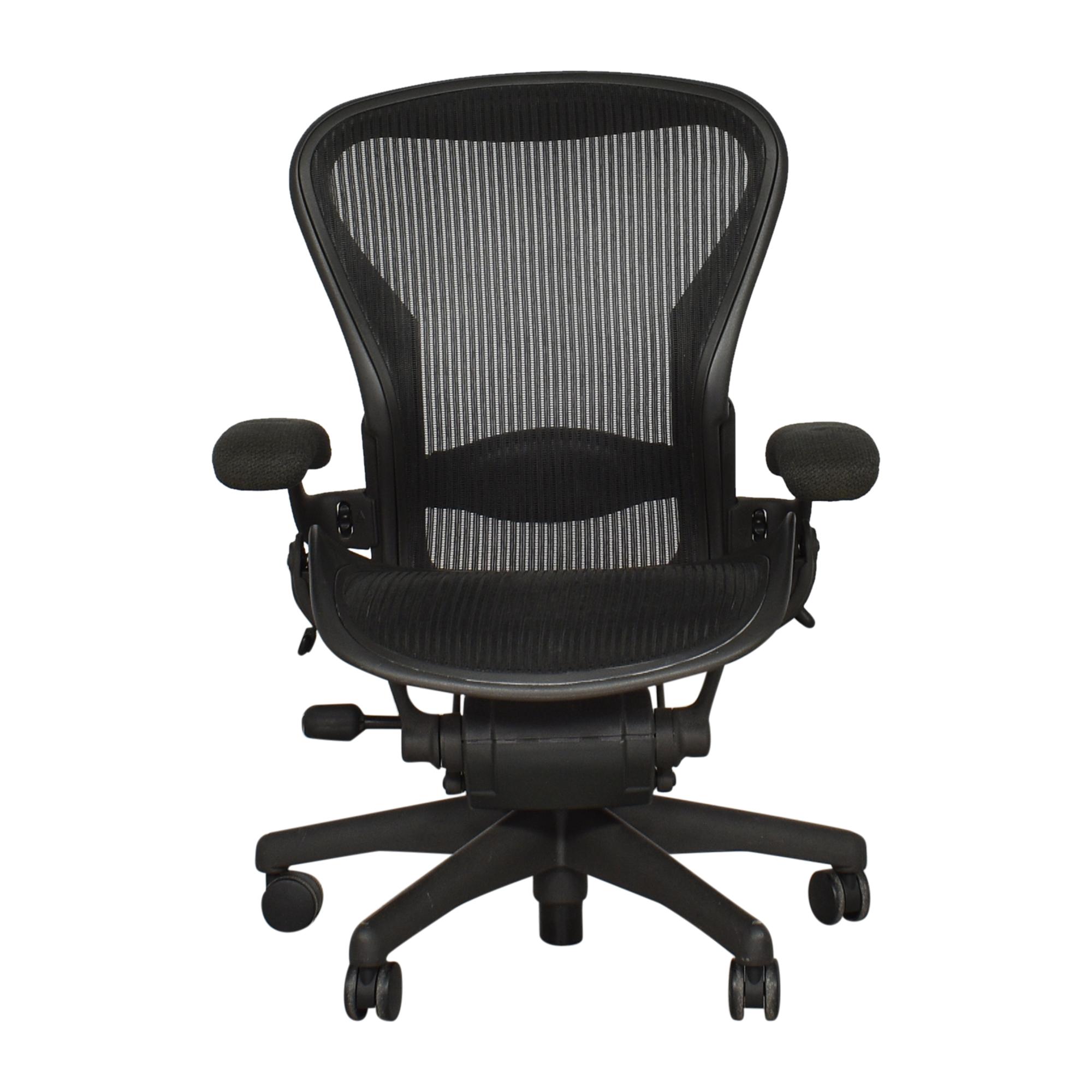 buy Herman Miller Aeron Chair Size B Herman Miller