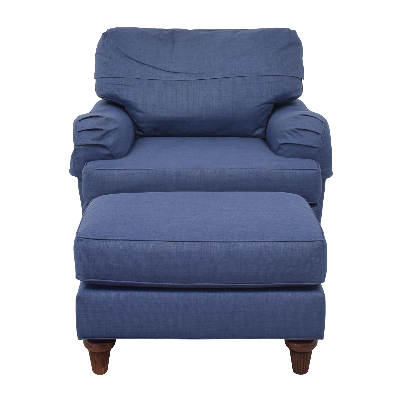 Norwalk Furniture Norwalk Furniture Lounge Chair with Ottoman coupon