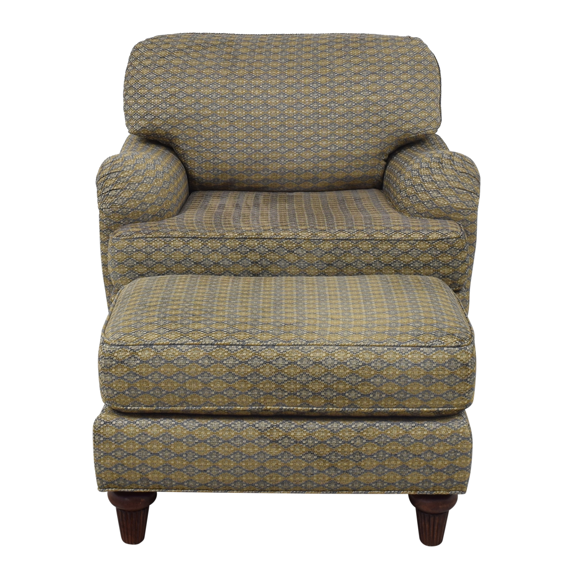 Norwalk Furniture Norwalk Furniture Club Chair with Ottoman on sale