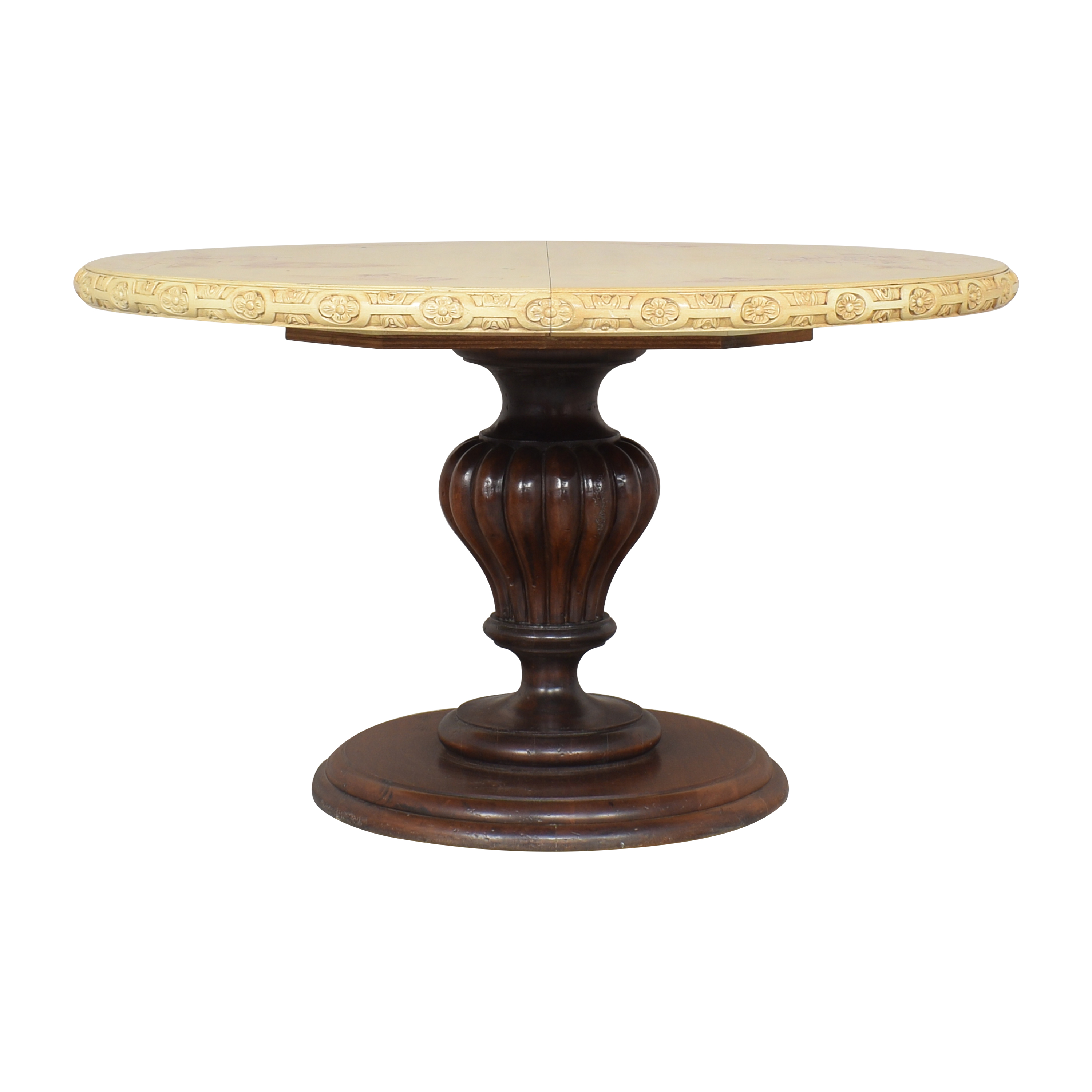 Custom Round Extendable Dining Table dimensions