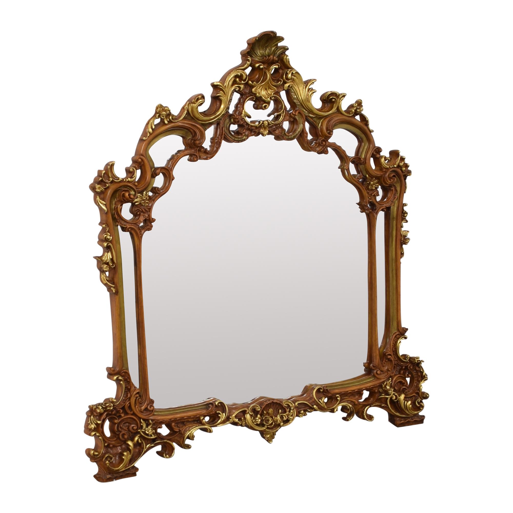 Crowned Top Mirror